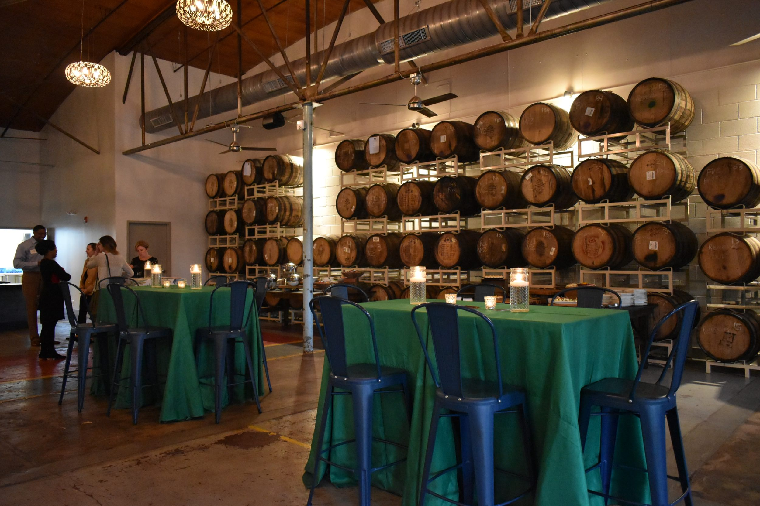 The Barrel Room at Catawba Brewing Co.