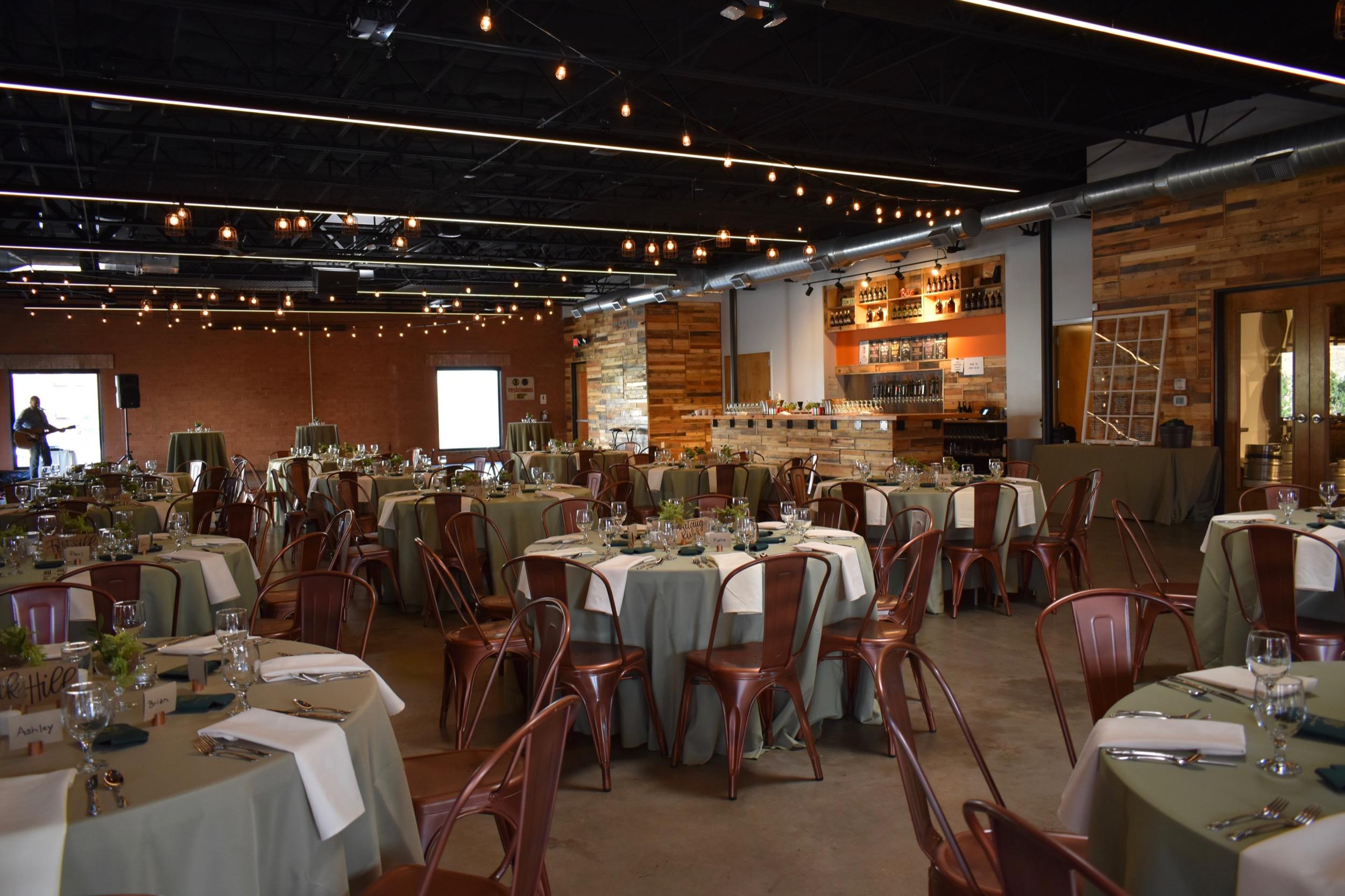 Wedding Reception at Triple C Barrel Room