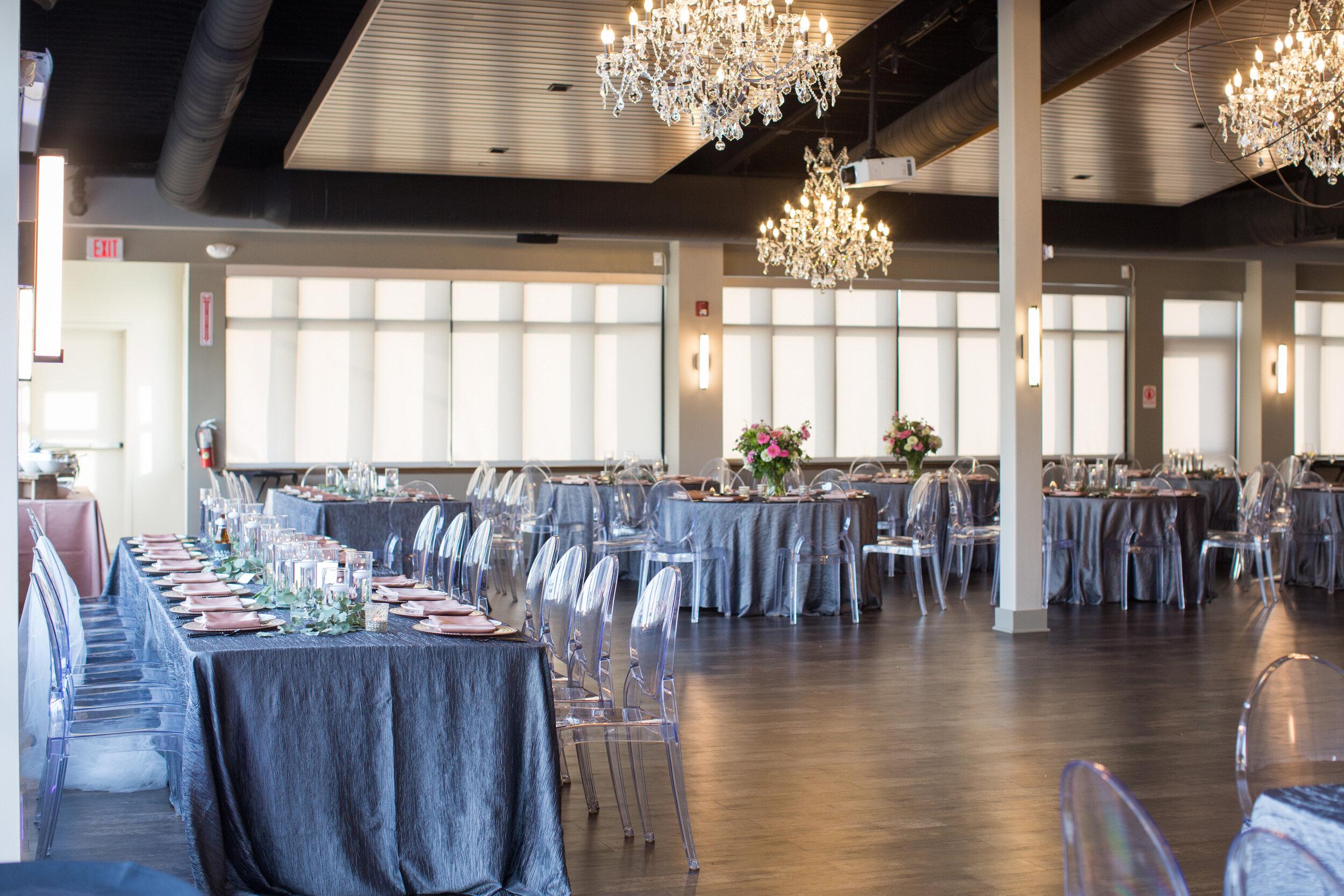 Terrace at Cedar Hill Wedding Reception