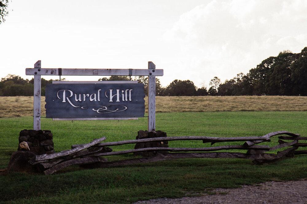 Historic Rural Hill Cultural Center