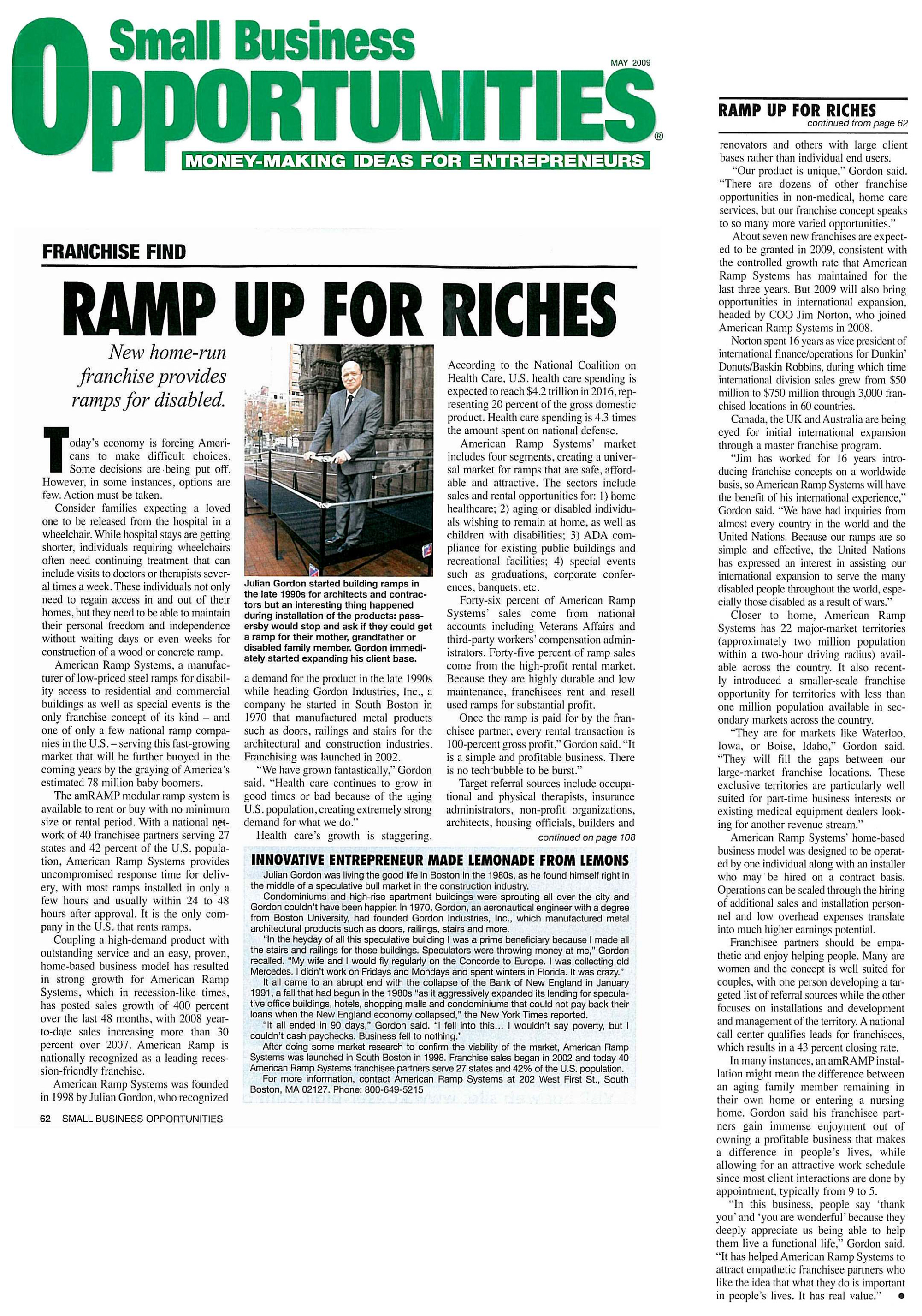 Ramp Up for Riches - Amramp