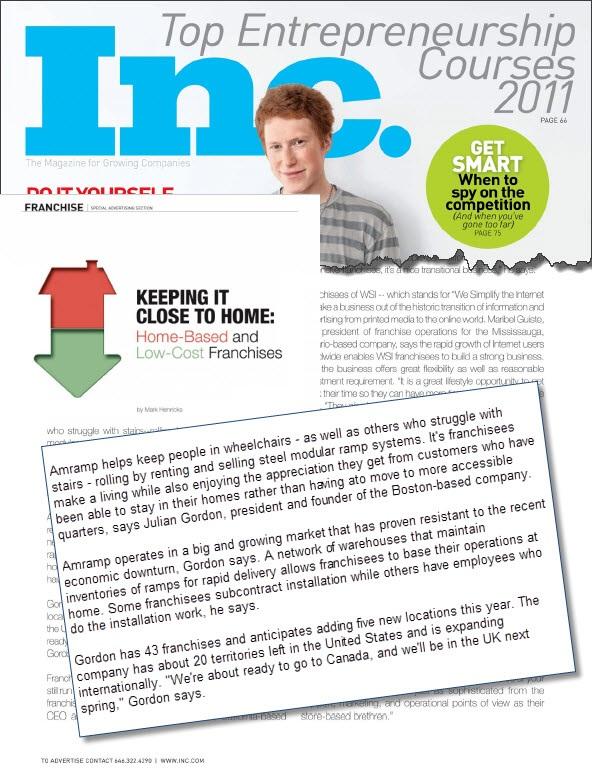 Amramp INC Magazine September 3, 2011