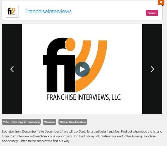 Amramp on Franchise Interviews