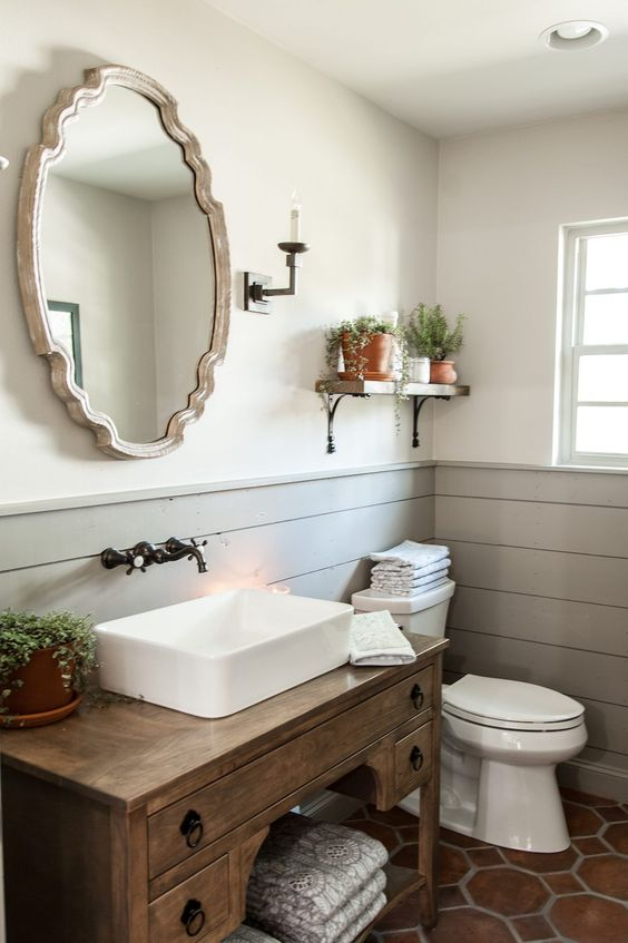 Rustic Bathroom Design | VIGO Industries - Bathroom Design Ideas - Bathroom Remodels - Home Interior