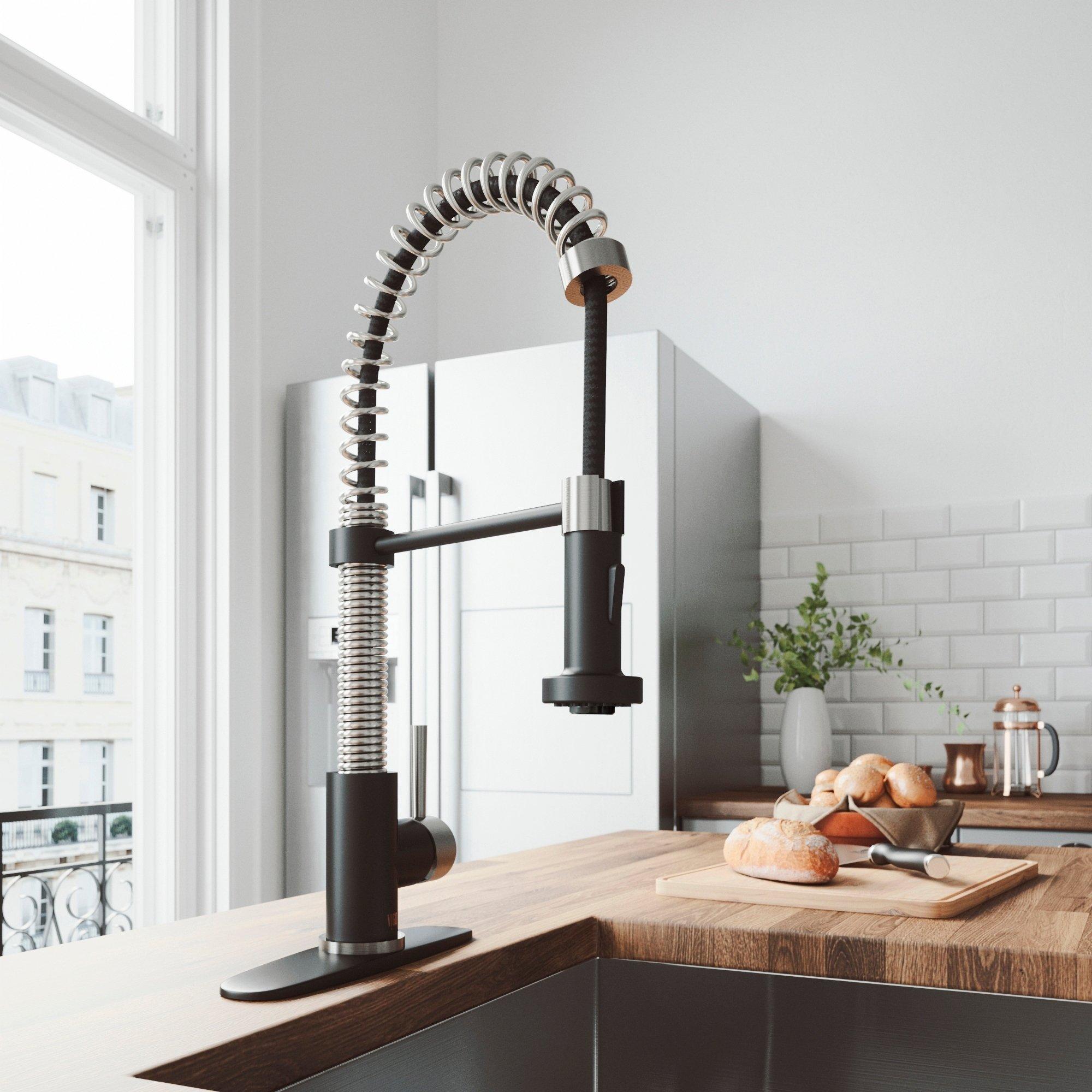 VIGO Edison Pull-Down Kitchen Faucet
