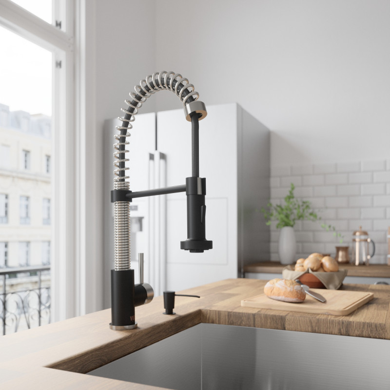 BLACK IS BACK: A TIMELESS TONE FOR YOUR HOME | VIGO Industries - Home Interior - Kitchen and Bathroom Faucets - Shower Panels - Shower Doors and Enclosures - Design Ideas