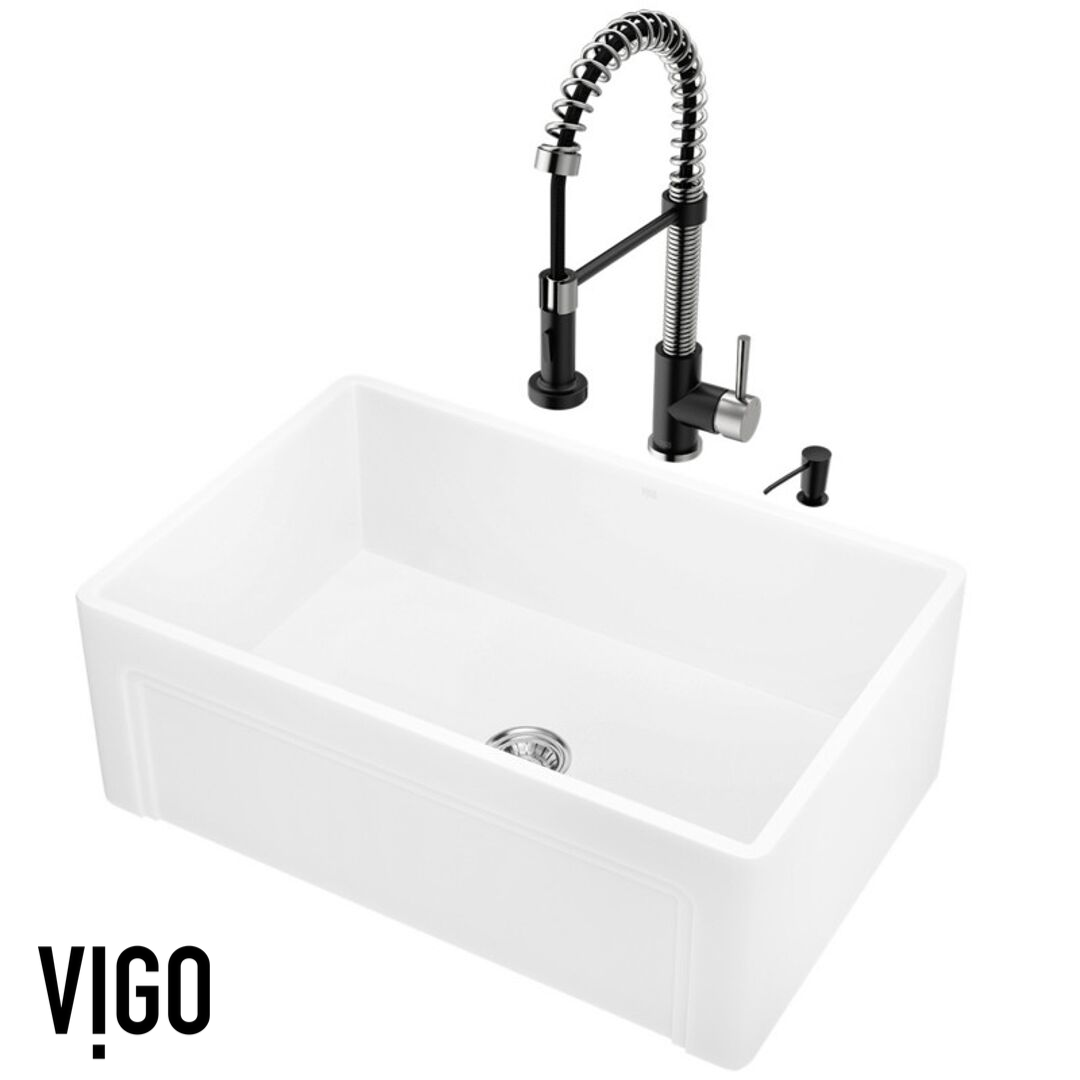 CHOOSE RIGHT FOR YOUR KITCHEN REMODEL | VIGO Kitchen Sinks and Faucets - Kitchen Design Ideas