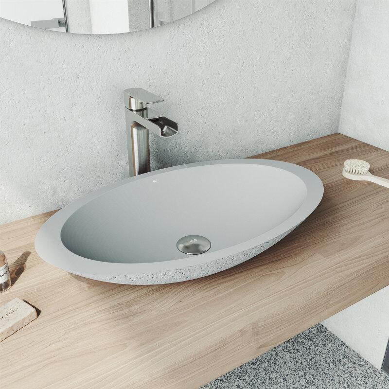 Stone Vessel Bathroom Sinks Vigo Blog Kitchen And Shower Ideas