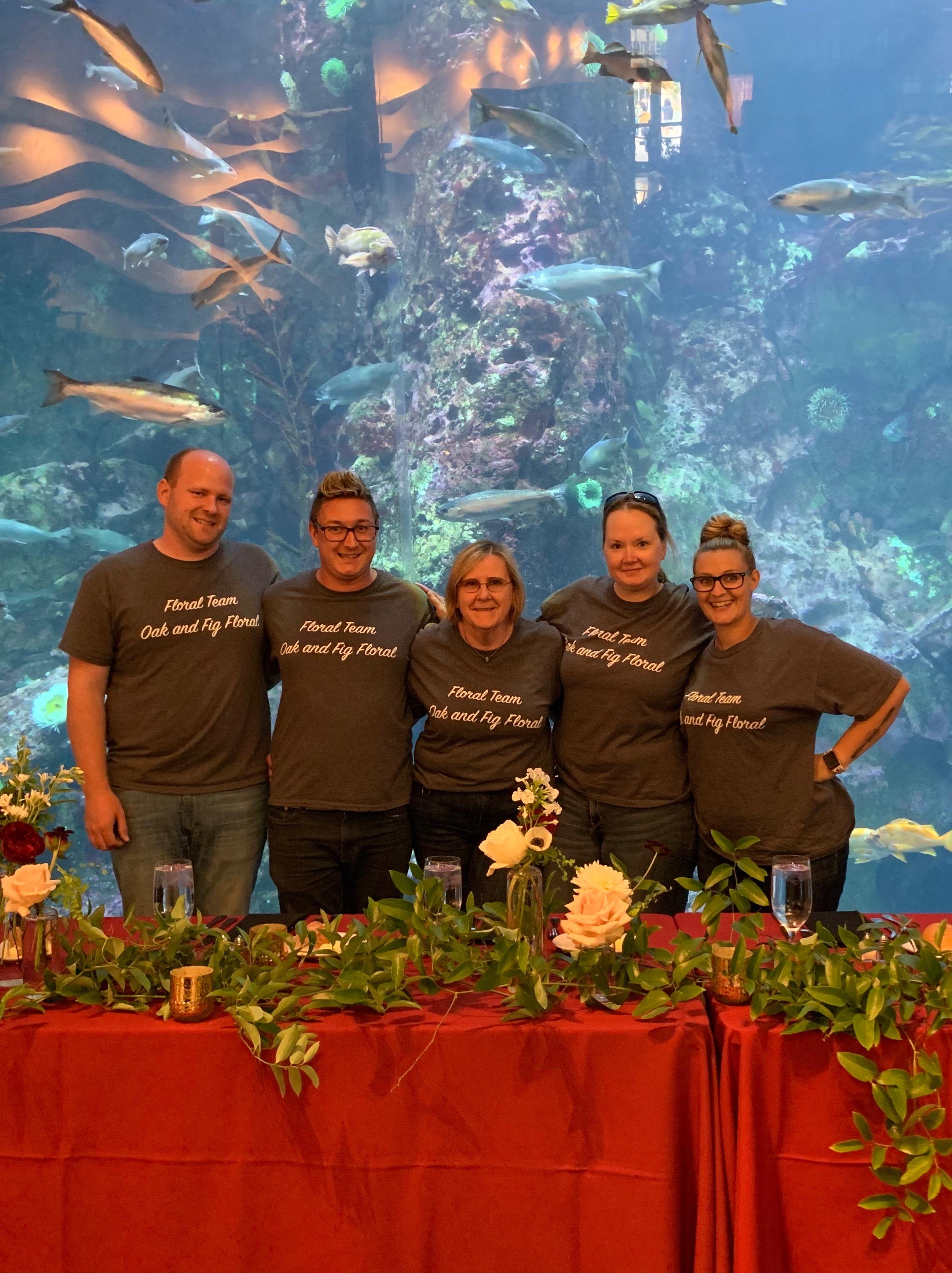 Seattle Aquarium August 2019