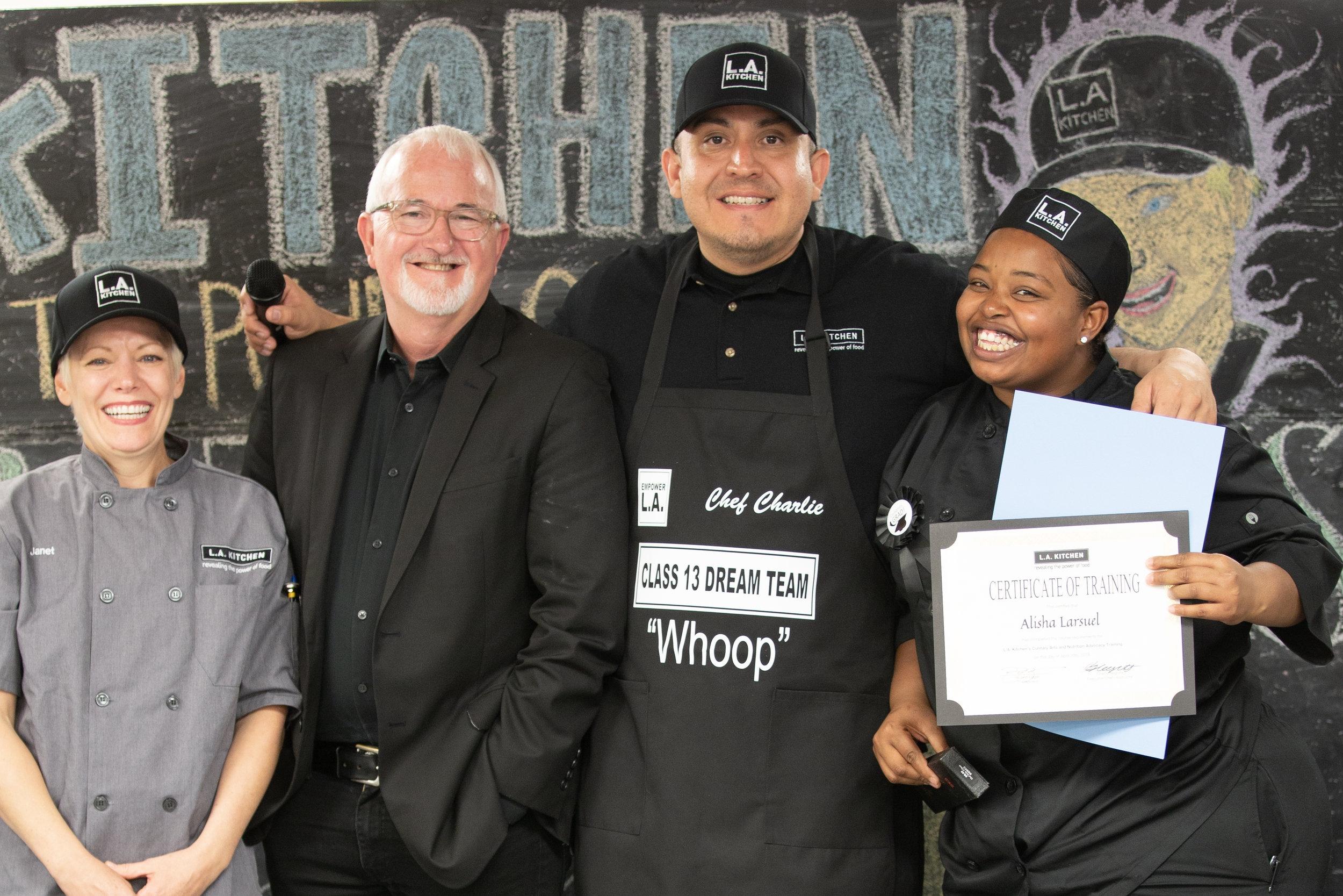 LA Kitchen Culinary School Graduate, Megan Witt