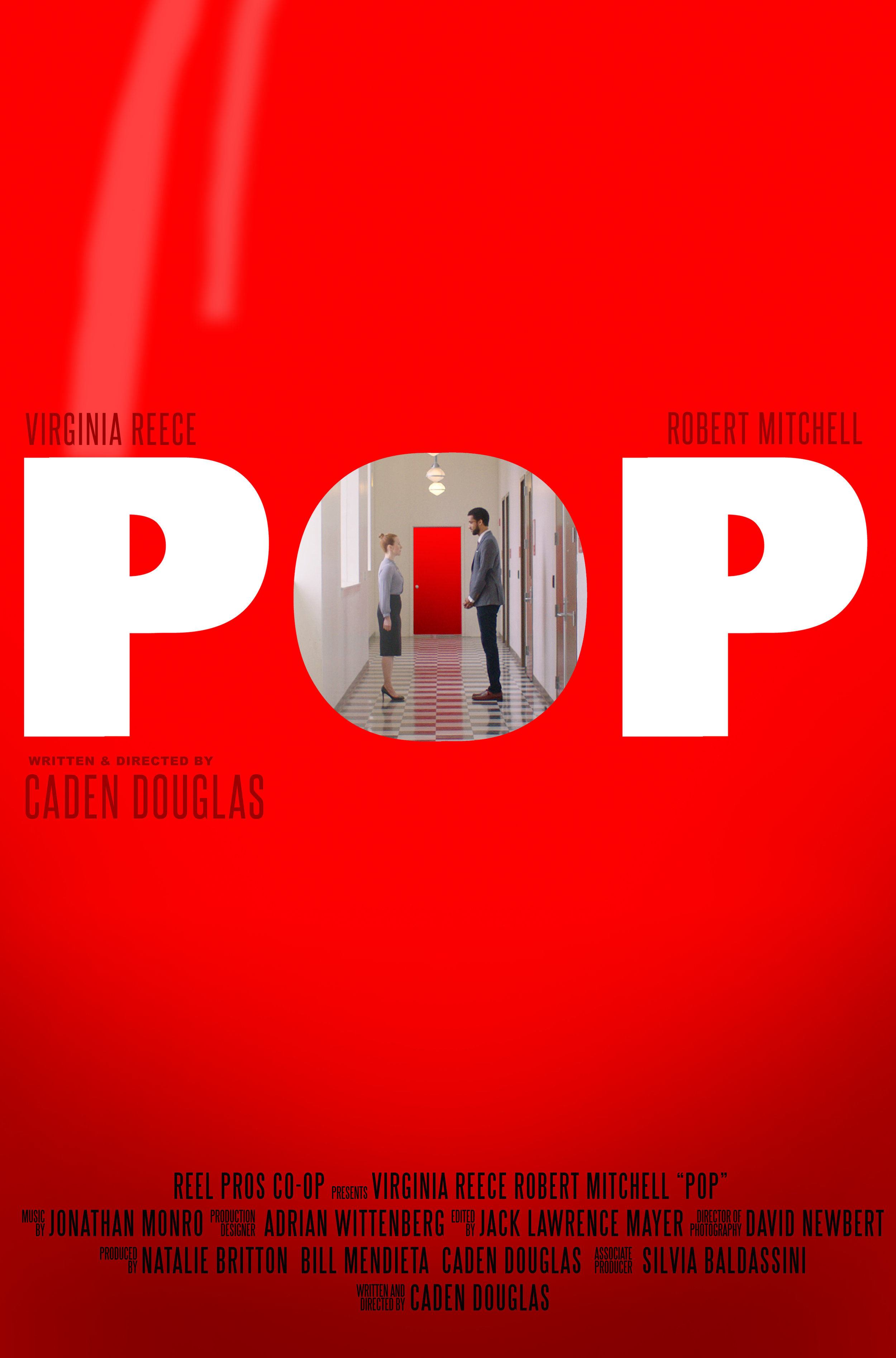 POP - Fear. Put a pin in it. - In this off-beat comedy, Carol has to face the thing she fears the most. It waits for her behind a mysterious door at the end of the hall. With the help of her doctor, can carol face her fear, go through the door, and burst through her crippling phobia?Written and directed by Caden Douglas, starring Virginia Reece and Robert Mitchell. Produced by Natalie Britton, Bill Mendieta, and Caden Douglas in association with The Collaborative.TRAILERIMDB