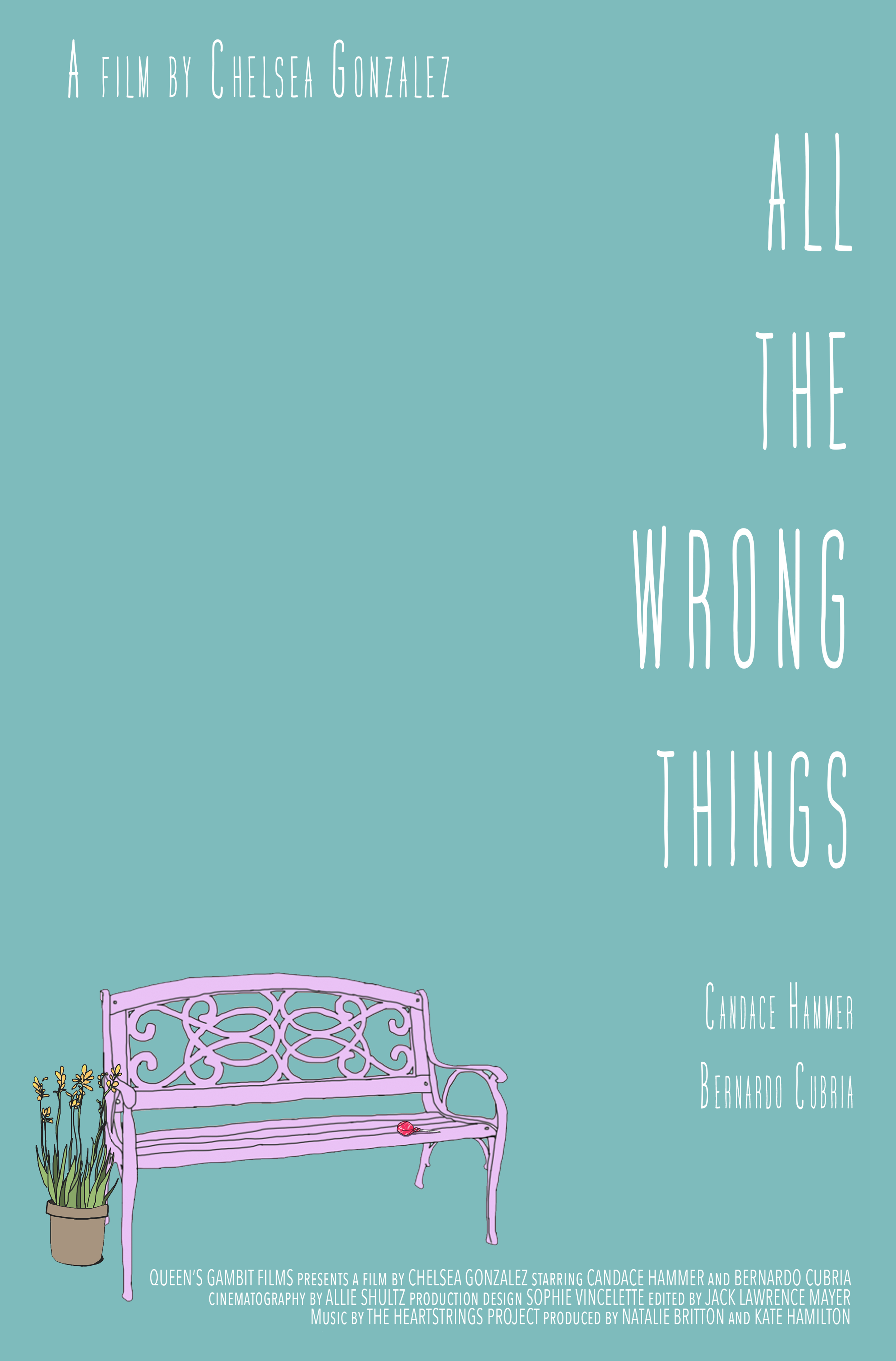 All the Wrong Things - Written and Directed by Chelsea GonzalezStarring Candace Hammer and Bernardo CubriaQueen's Gambit Films