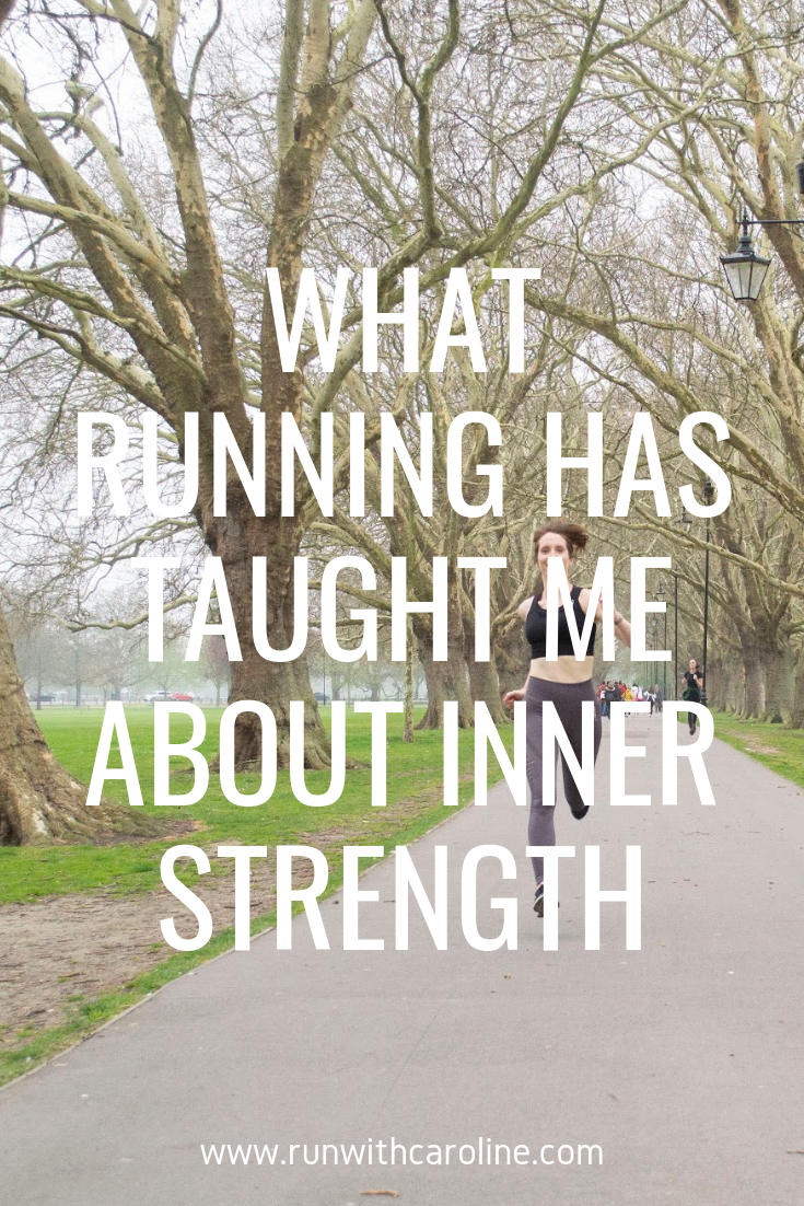 Mental strength when running