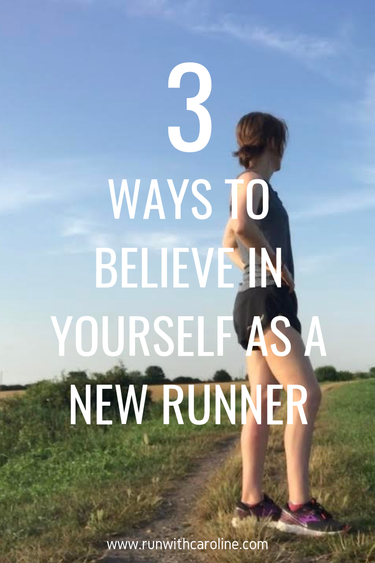 Running and self confidence