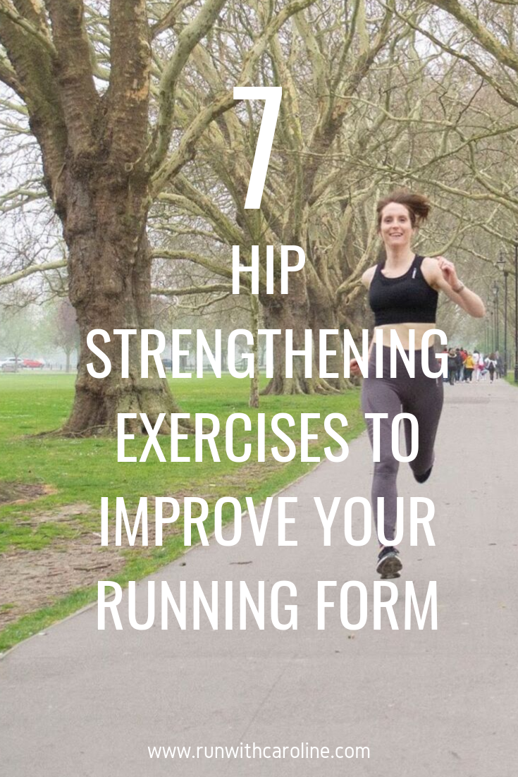 7 hip strengthening exercises to improve your running form