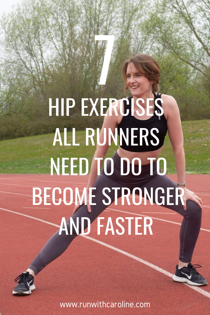 7 hip exercises all runners need to do to become faster and stronger