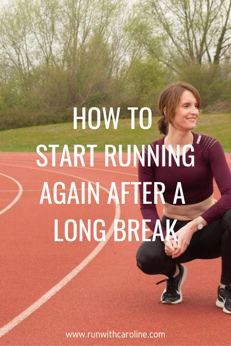 How to start running again after a long break