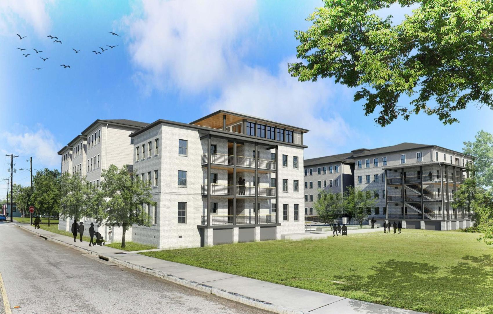 The Charleston Housing Authority is breaking ground on the new Grace Homes affordable housing complex in August.  T.Y. Lin International/Provided