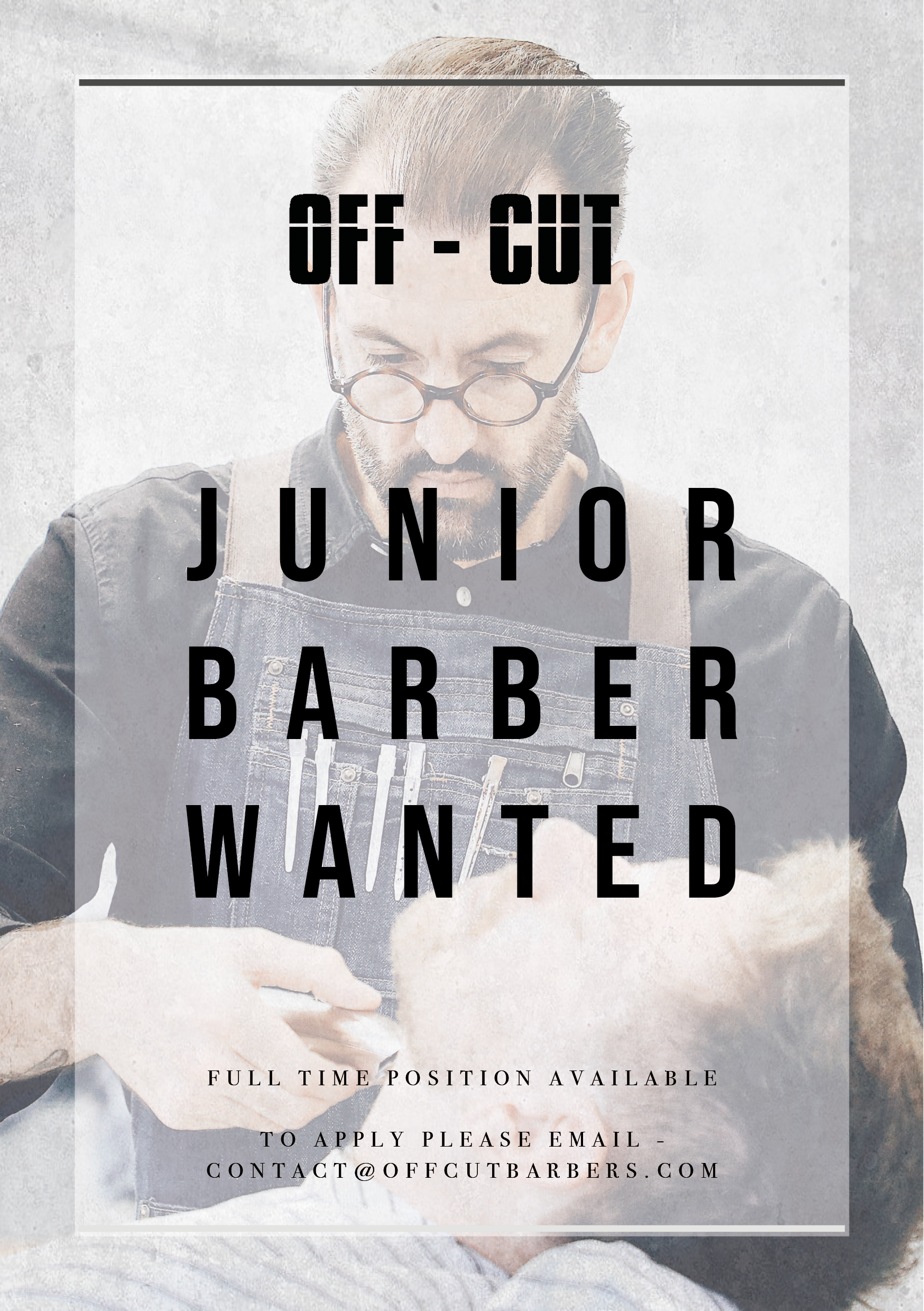 Junior Barber Wanted