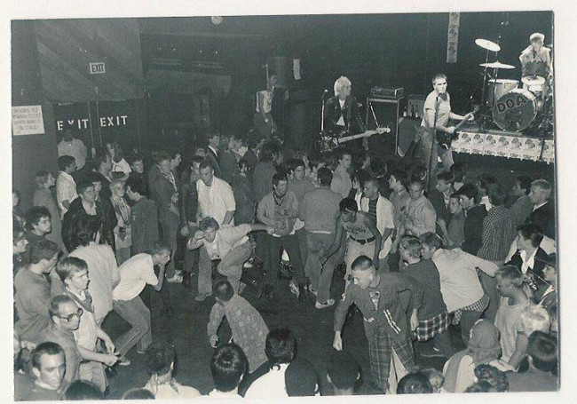 DOA concert at The Starwood, Los Angeles, 1981