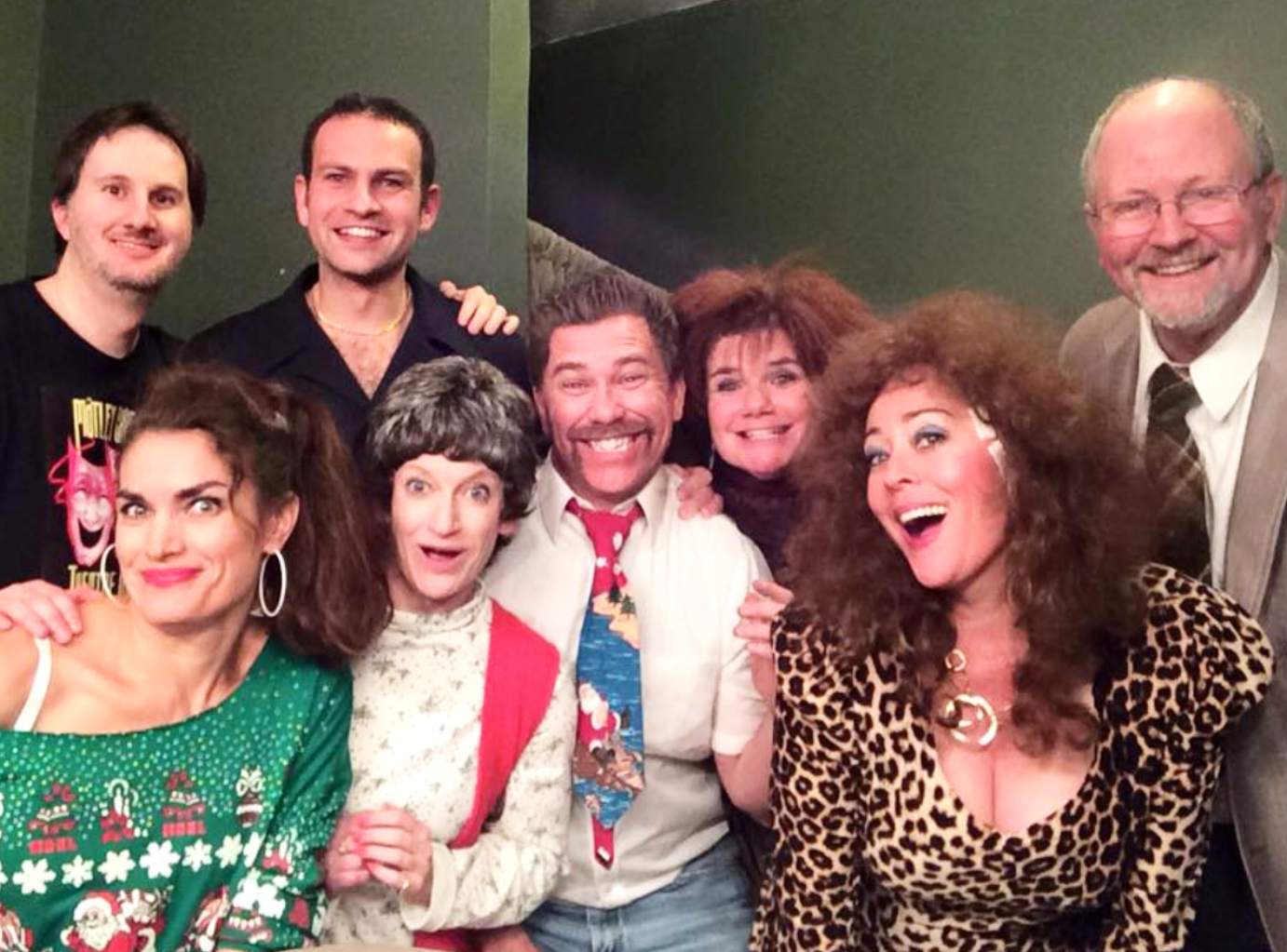 See the cast from  Jimmy's First Christmas on Parole  in the sequel!