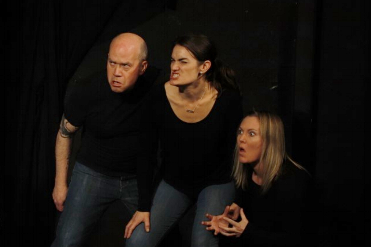 The Improverts spontaneously create an entire play!