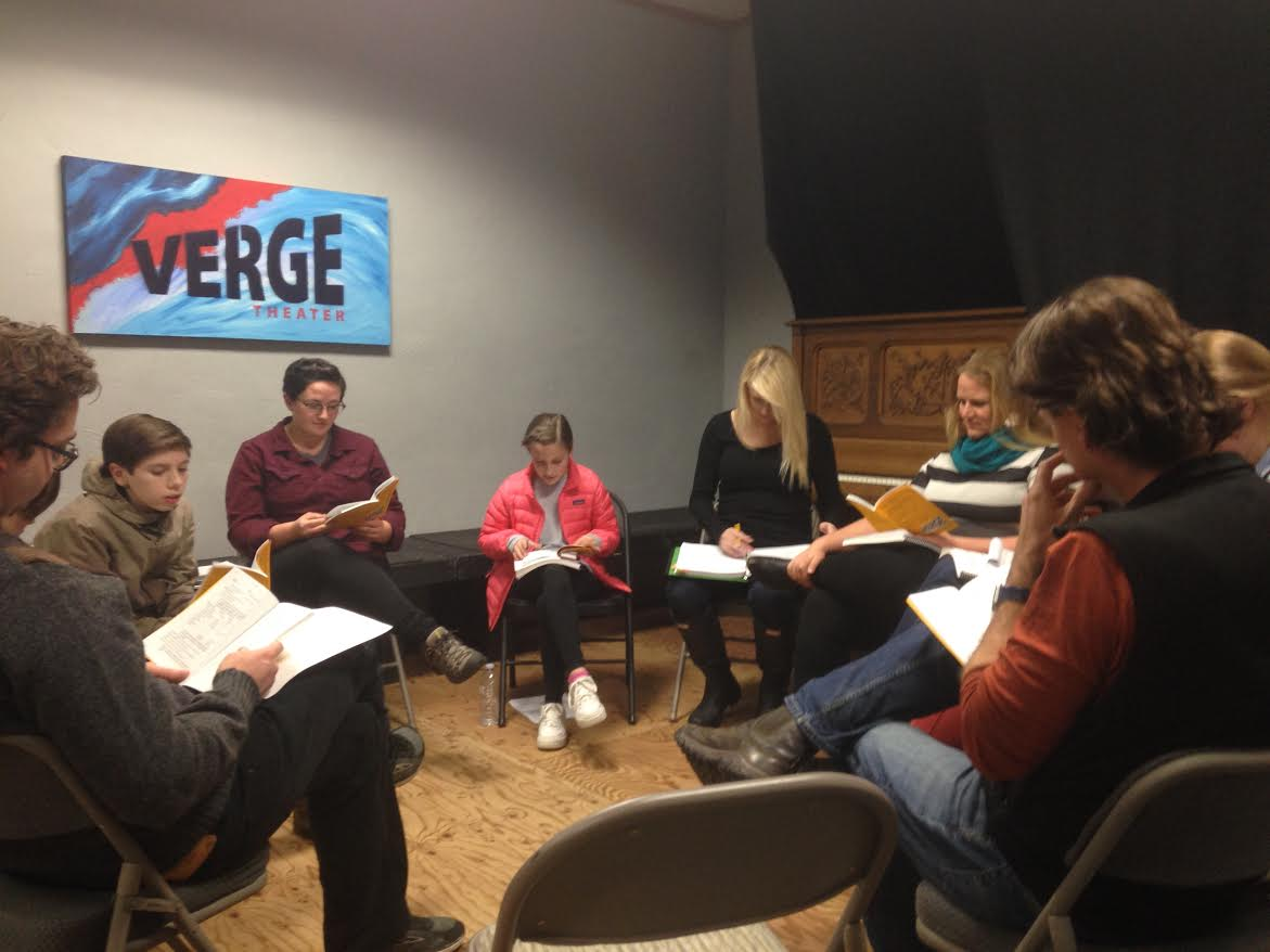 Dec. 10, 2018: The cast of  Fun Home  assembles for its first read-thru! Thanks to everyone who donated to the  Fun Home  Fund so we could have scripts and scores and rights to this amazing musical. #TeamworkMakesTheDreamWork