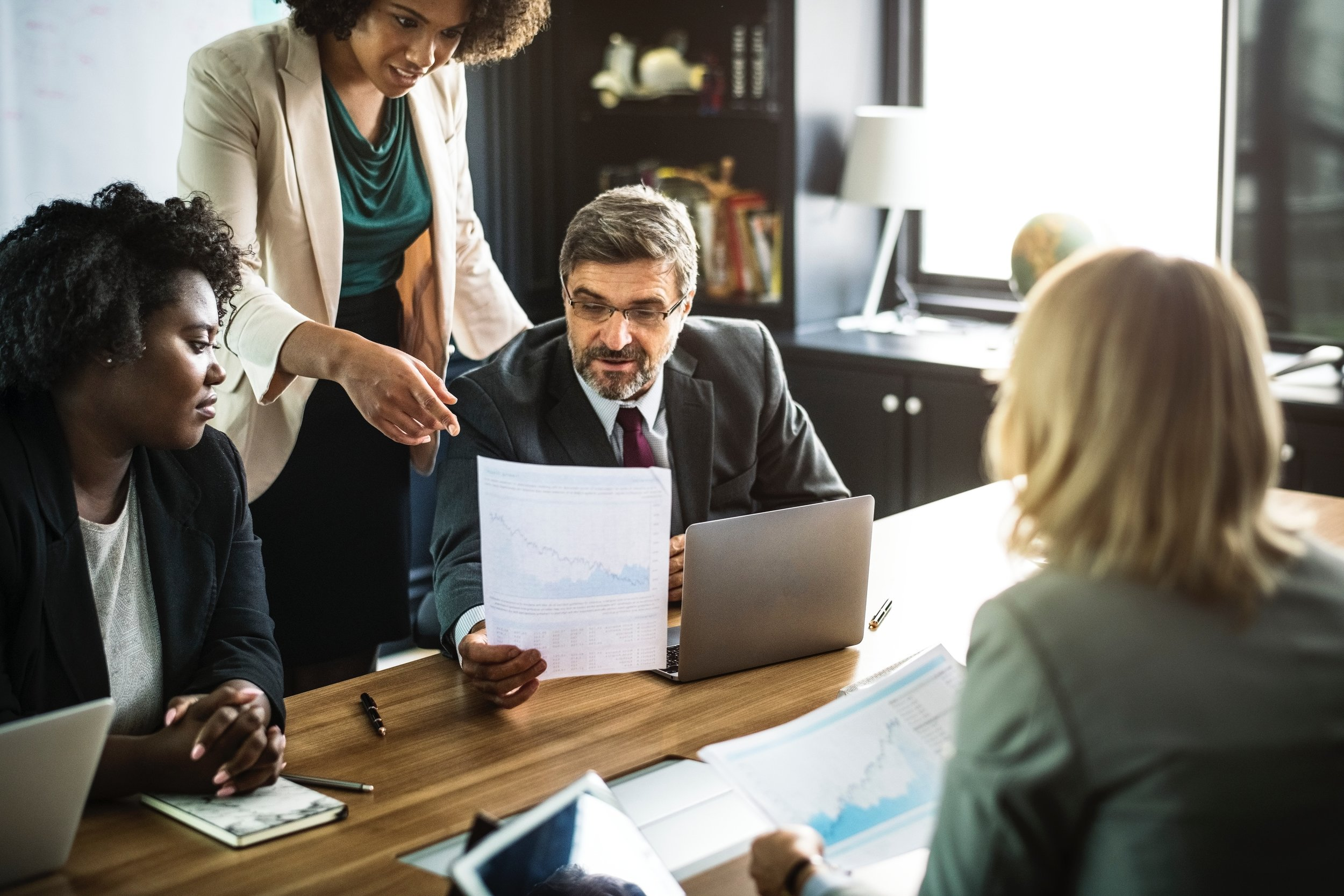 BUSINESS ADVISORY & CONSULTING SERVICES - Our team can address specific questions or projects with your firm, designing & operating repeatable business solutions, specific best practice concerns, and other services.