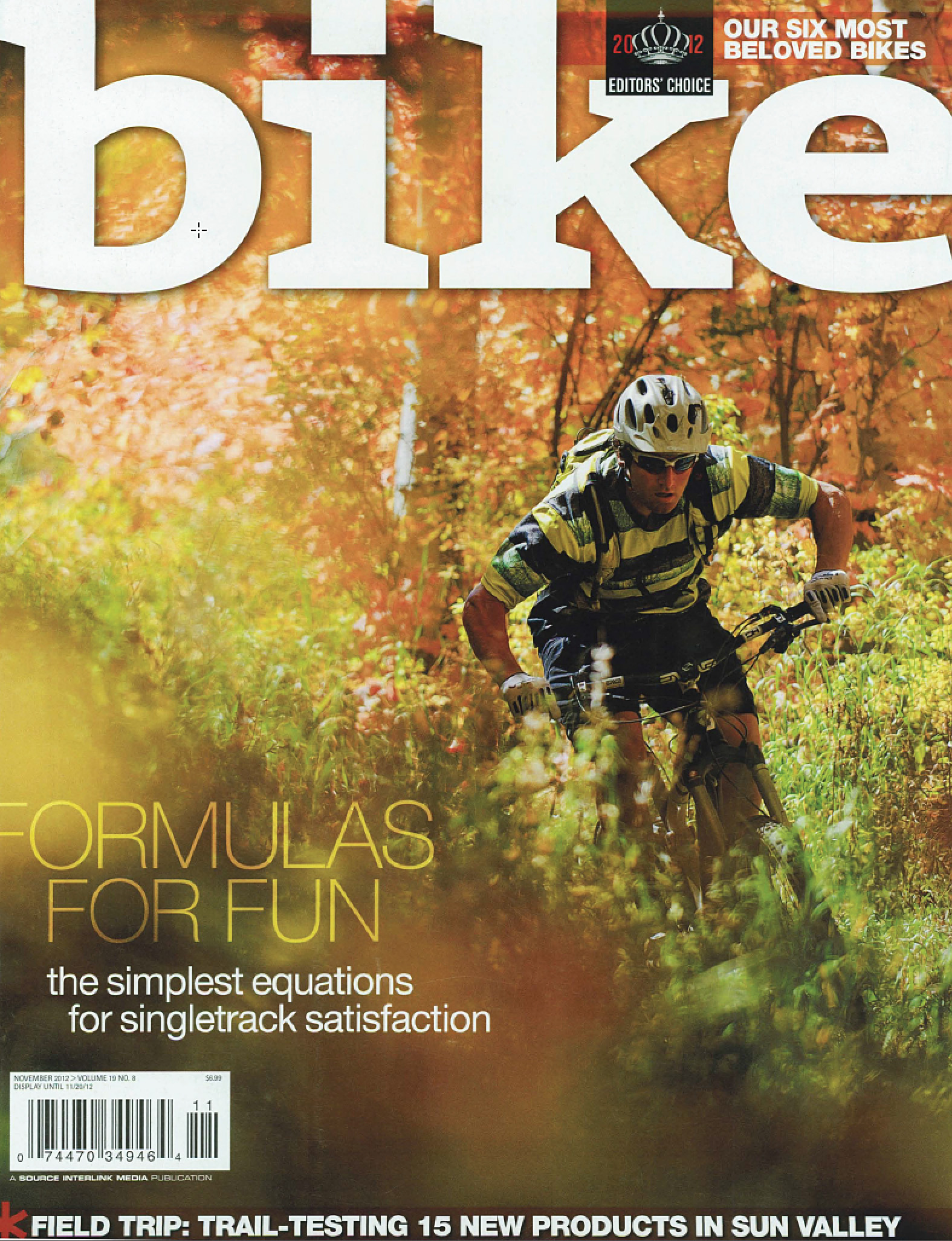 Bike Magazine, Fall 2012