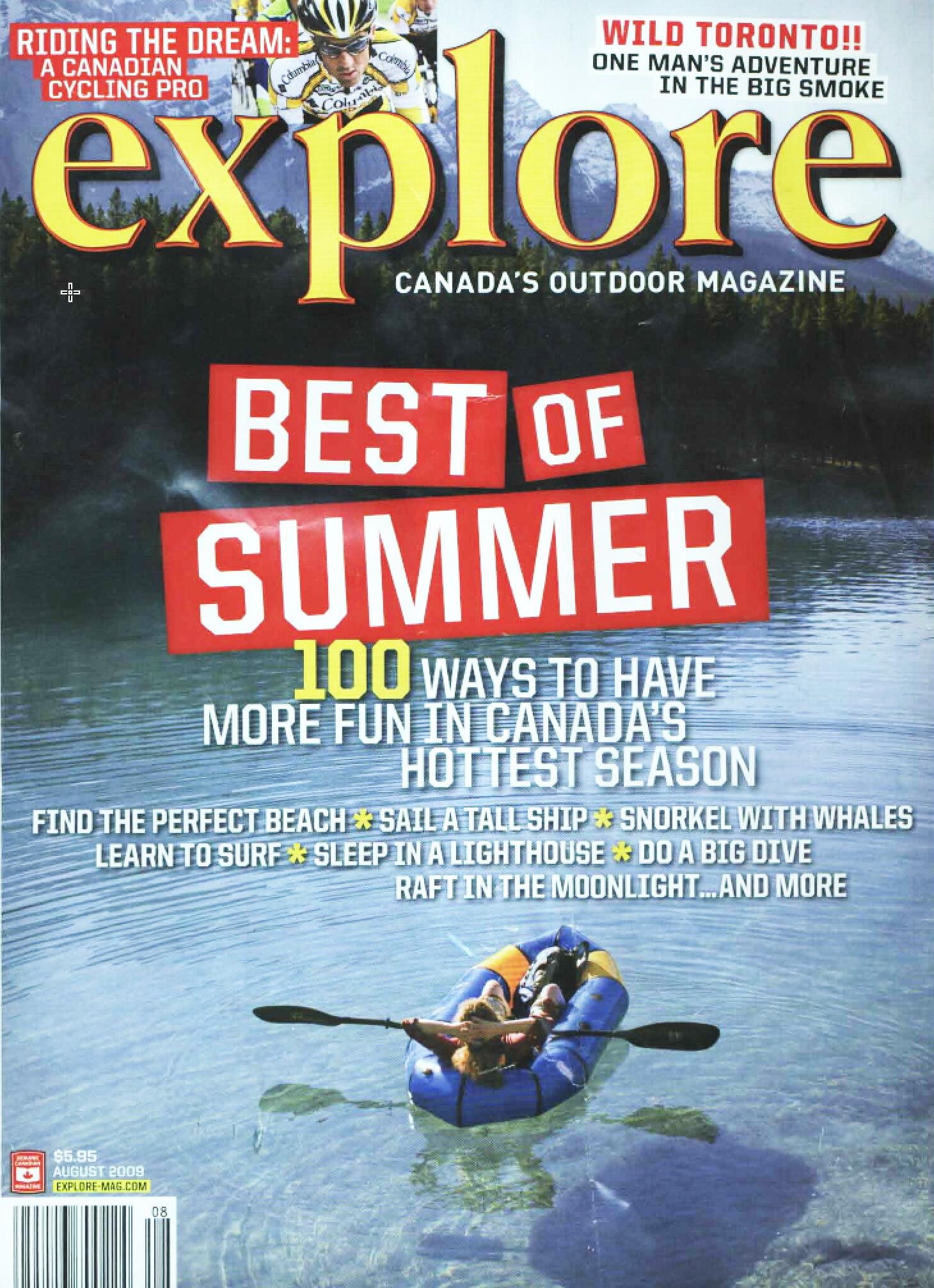 Explore, August, 2009