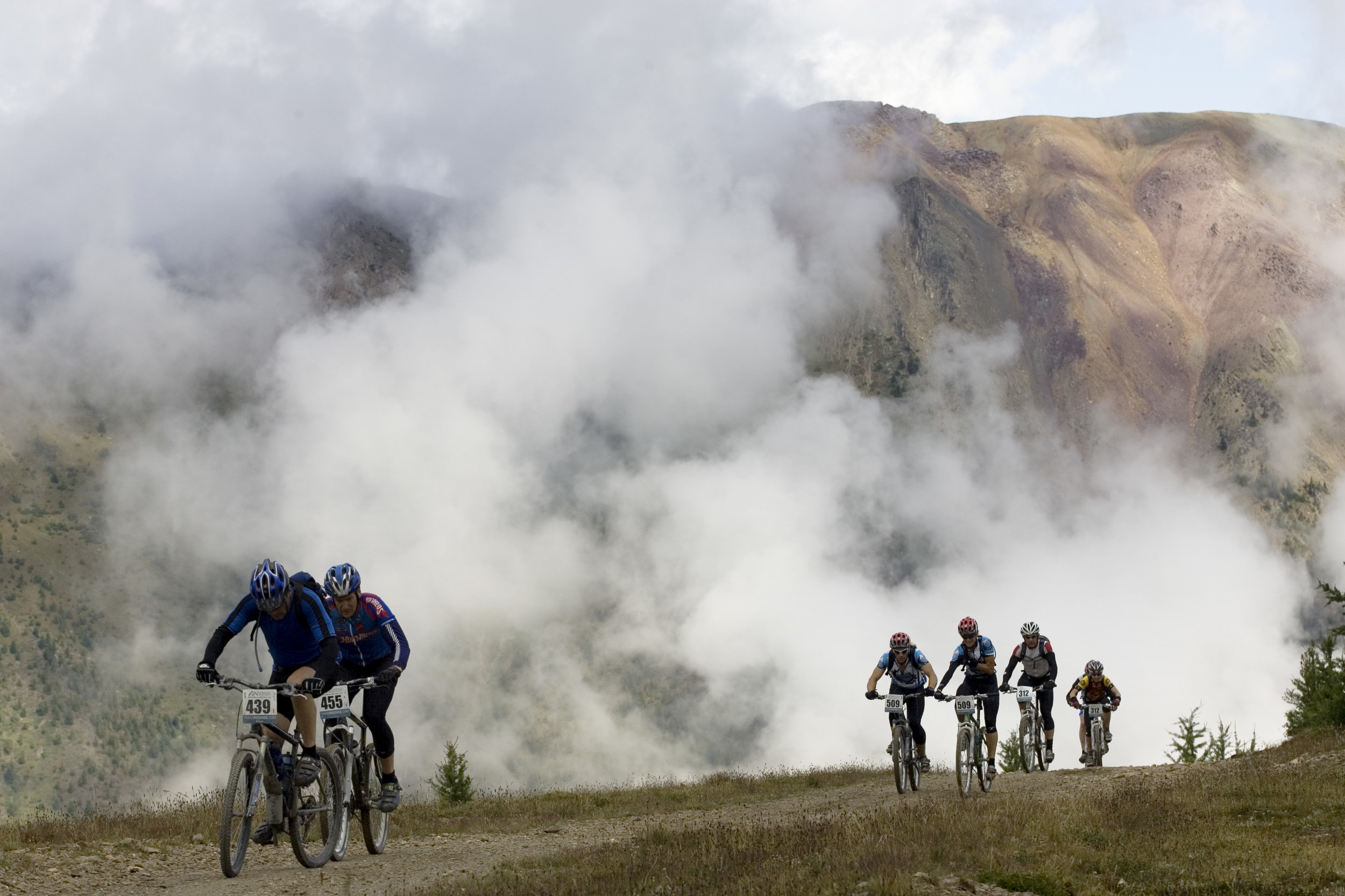 The TransRockies Classic mountain bike stage race - Panorama.