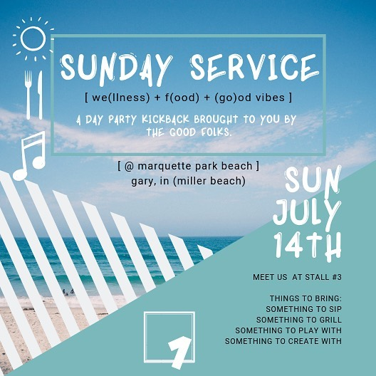 Hey Art Lovers👋🏾 THIS SUNDAY, July 14th, the gallery will be closed for a private event, but you're welcome to join The Good Folks at the beach instead for: SUNDAY SERVICE a day party kickback  We'll be lighting the grills, so bring something to throw on em, come dressed to impress, and let's have a good time like we always do🏁  Basically, we've got a bunch of things happening this weekend...and there's something for everyone!! So Saturday or Sunday, pull up. ▪️ ▪️ ▪️ #SQ1SundayService #kickback #dayparty #SquareOneGallery #SquareOneCultureGallery #SQ1 #notyouraveragegallery
