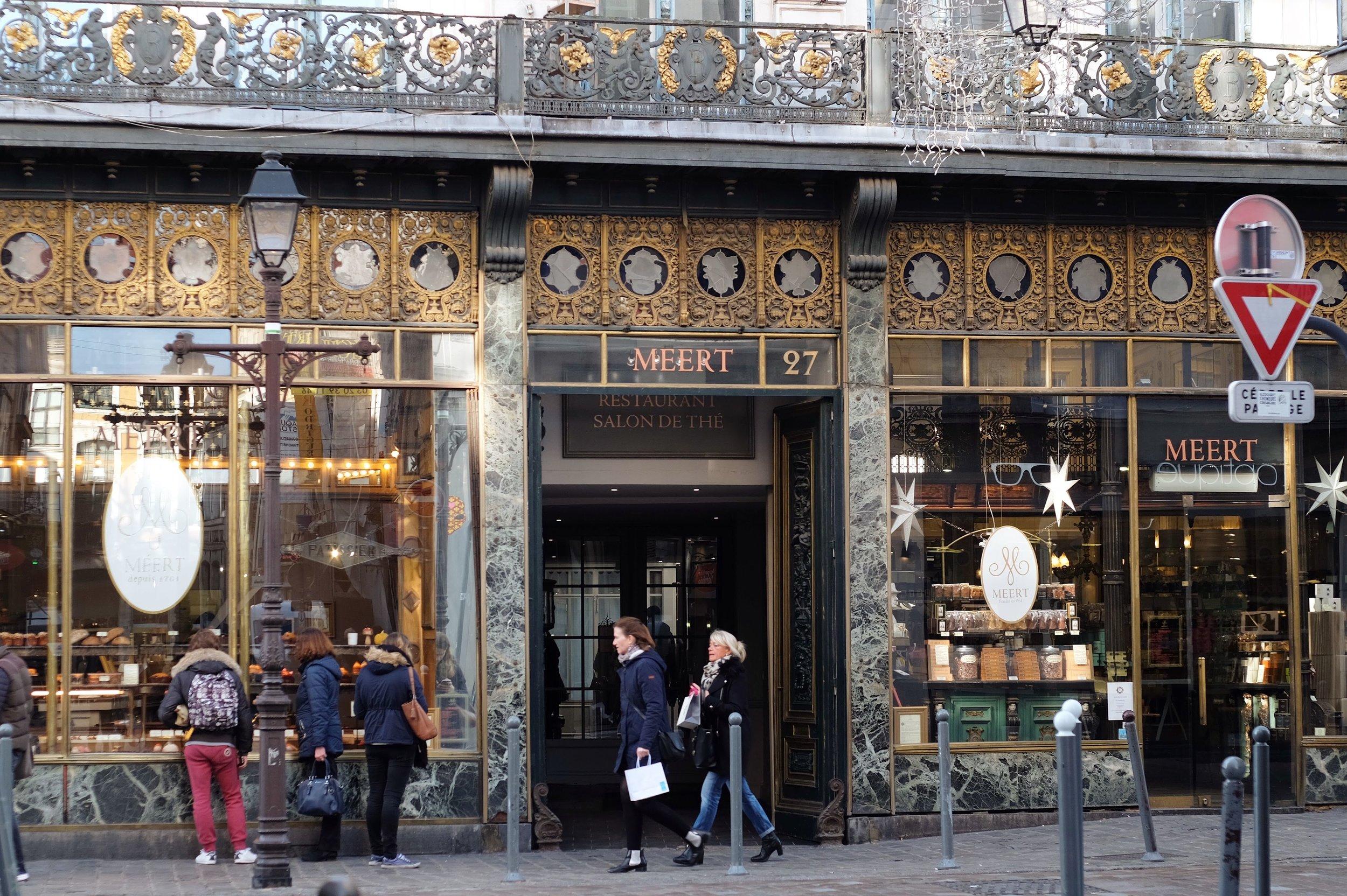 Méert Pâtisserie and Salon de Thé, a Lille classic