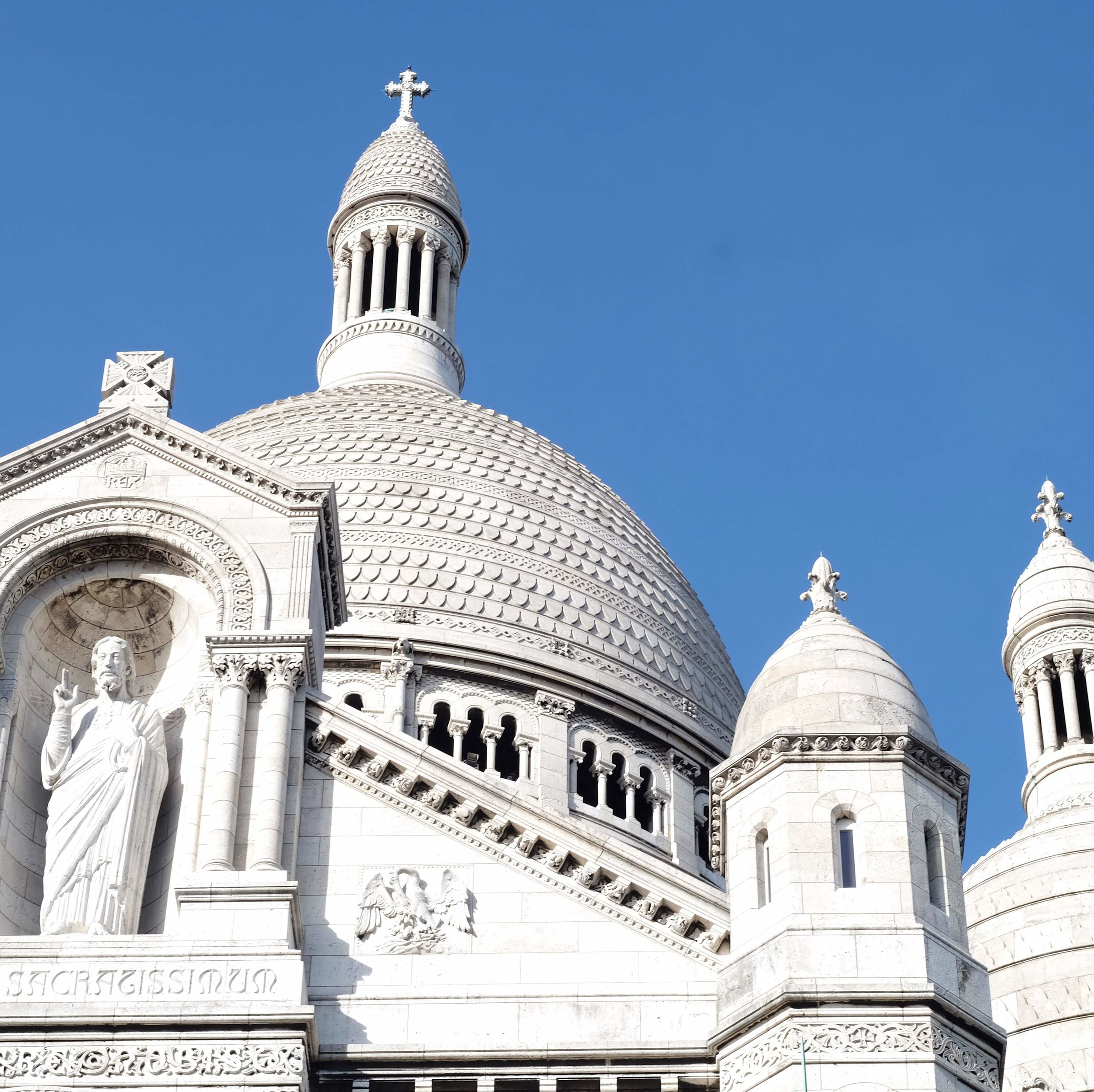 The stunning Sacré Coeur Basilica
