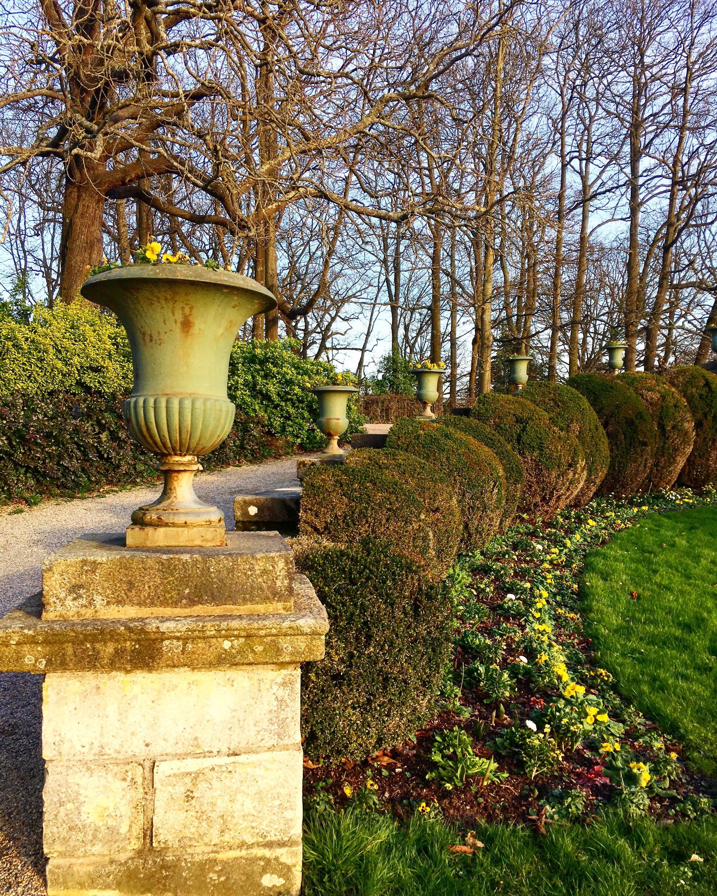 En plain air , fresh air at Parc du Thabor