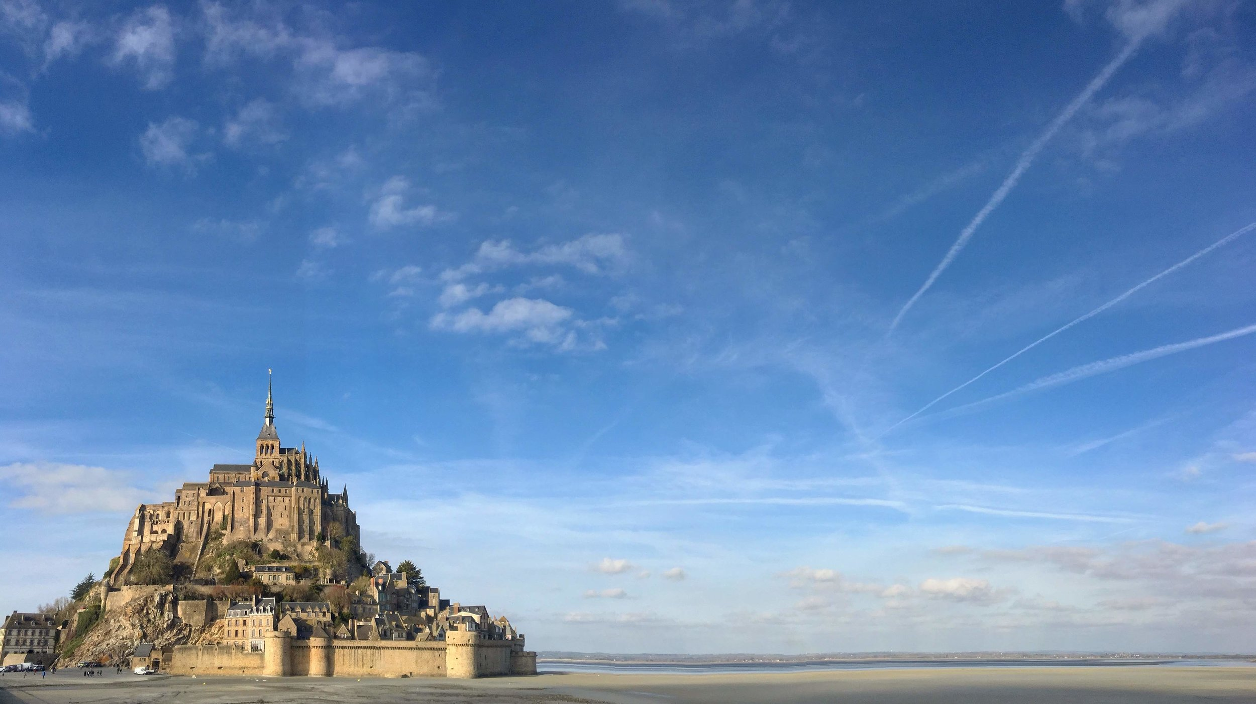 Le Mont Saint Michel from a distance