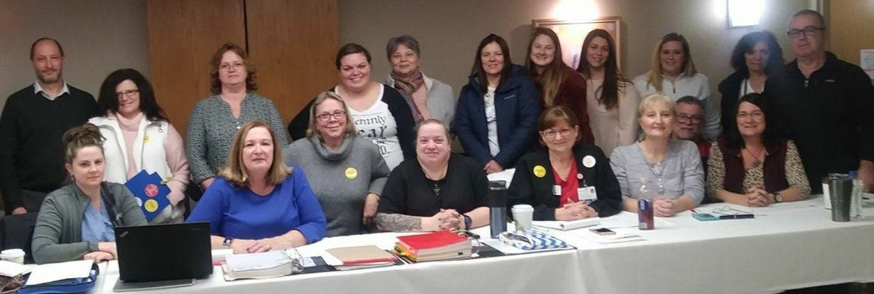 Wilkes-Barre General RN Bargaining Committee and PASNAP staff