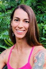Ivie Bryant - Ivie was introduced to yoga in 2007 when she moved to Oahu. Through focused breath work, dynamatic movement, and long held poses, her physical, emotional, mental and energetic layers began to open and she discovered the incredible healing potential the practice had to offer. Yoga has been instrumental in helping her recover from a back injury and two cesareans within two years. It has improved her flexibility and helped her heal physically as well as energetically. After receiving a master's in education in 2010, Ivie saw the benefit of the practice in the classroom. She became YogaEd certified and worked with the Farrington High School cross country team to teach middle school students at Kaimuki. And in 2018 she completed the Aloha Kula Yoga teacher training program. You can practice with Ivie at Aloha Yoga Kula in Kailua and find her collaborating at Yoga Unplugged events.