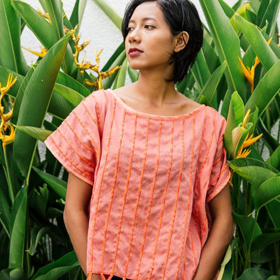 Tonlé    A longtime favorite of mine, Tonlé is committed to zero waste manufacturing and uses factory remnants for all of their artfully crafted pieces.   Save $20 off orders over $100  with promo code:  tonledonegood20