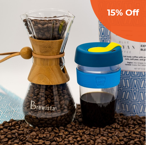 Coffee Box     Blue Mayan Coffee $85.00 - $105.00   Save 15% off your order  with promo code:  BMCDG18