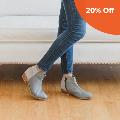 Espe Boot in Smoke   The Root Collective $218.00   Save 20% off your first order  with promo code: DONEGOOD