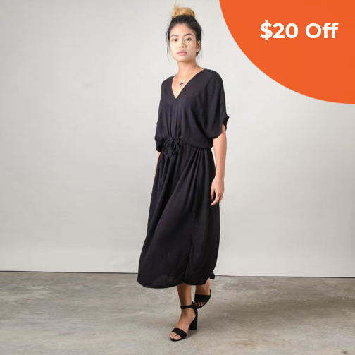 Long Kaftan   Tonlé  $84.00   Save $20 off orders over $100  with promo code: tonledonegood20