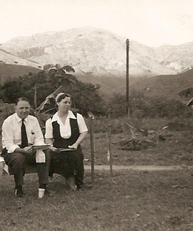 Edna Ruth Byler circa 1946