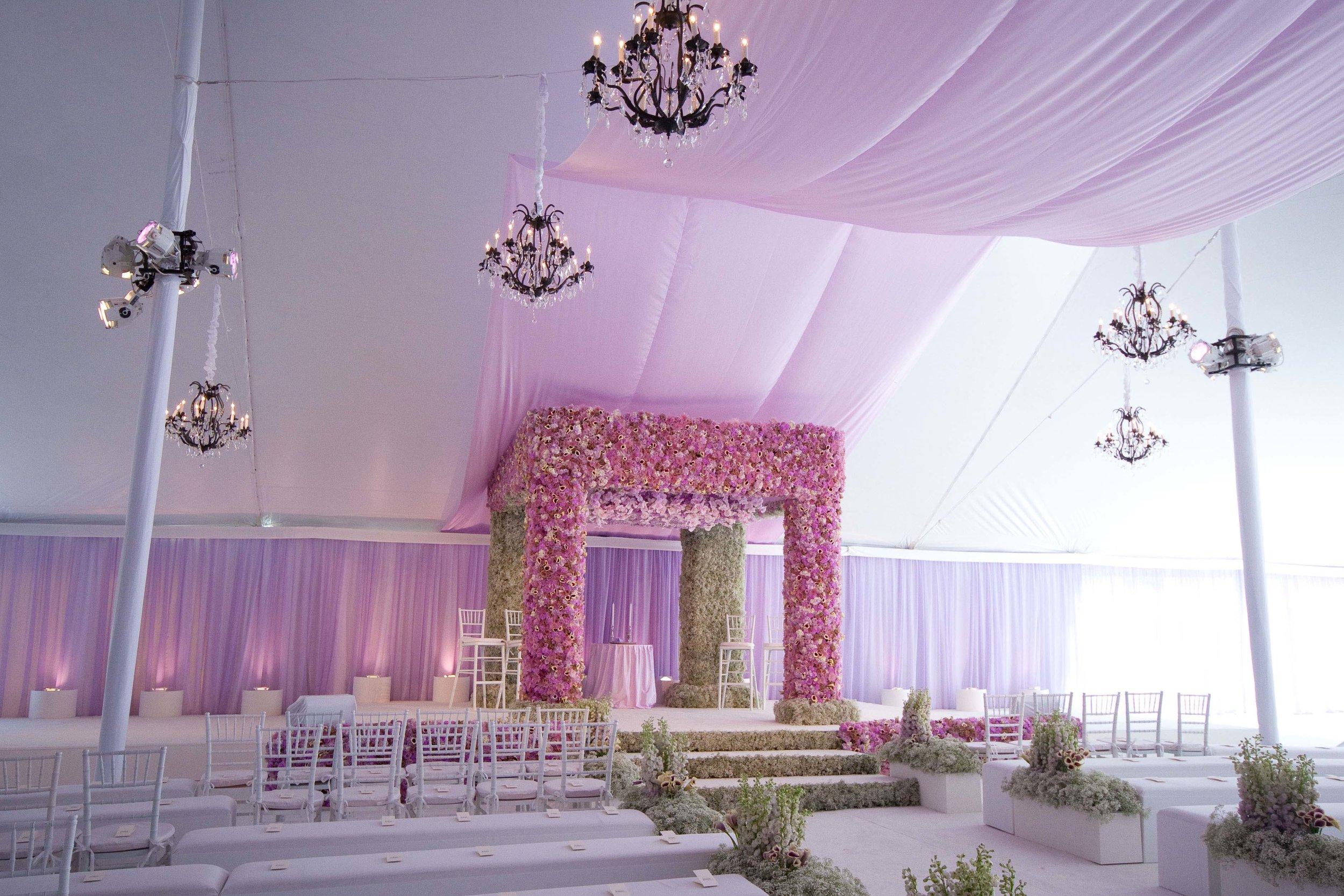 Stunning FLORAL WEDDING -