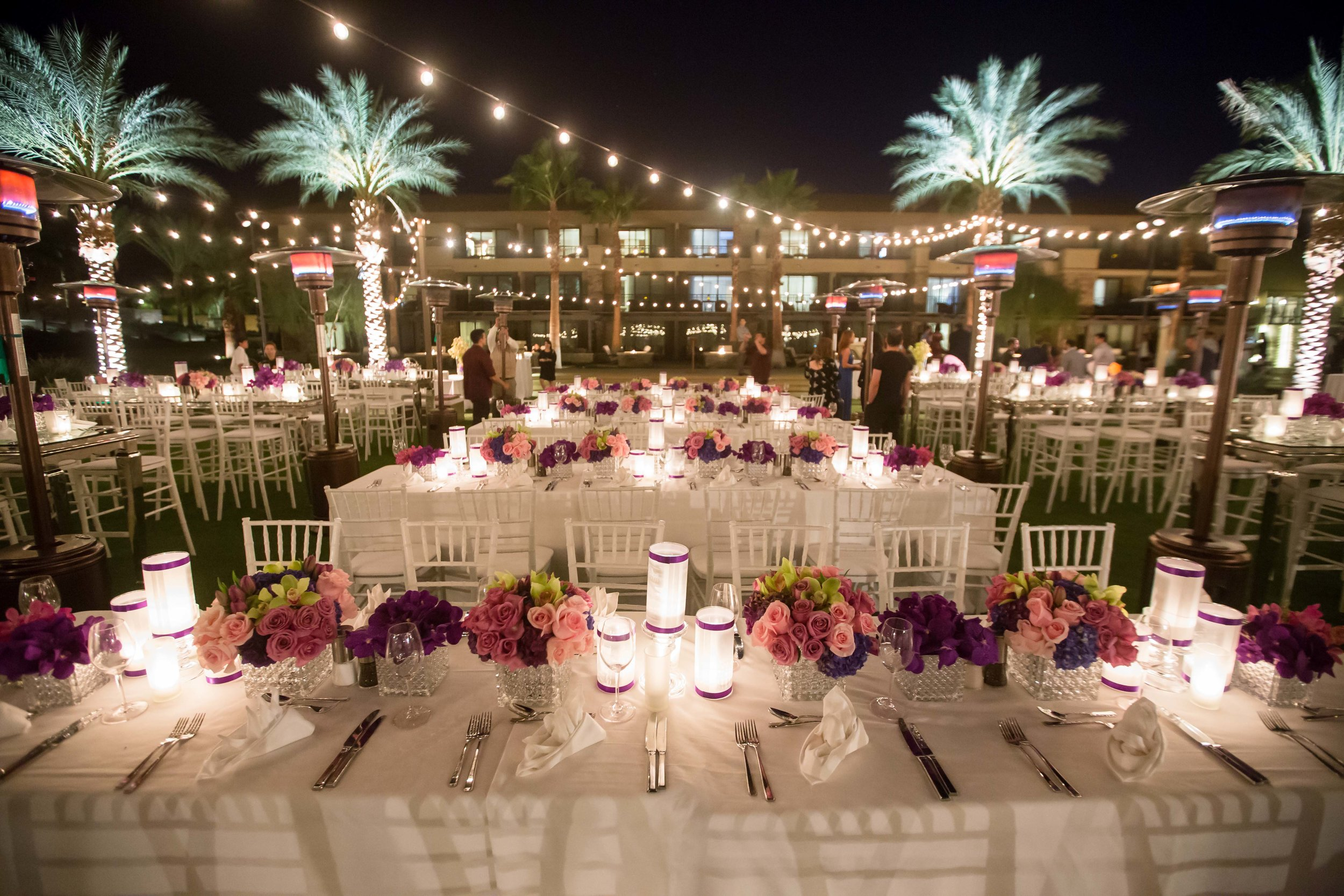 Desert Wedding Rehearsal Dinner -