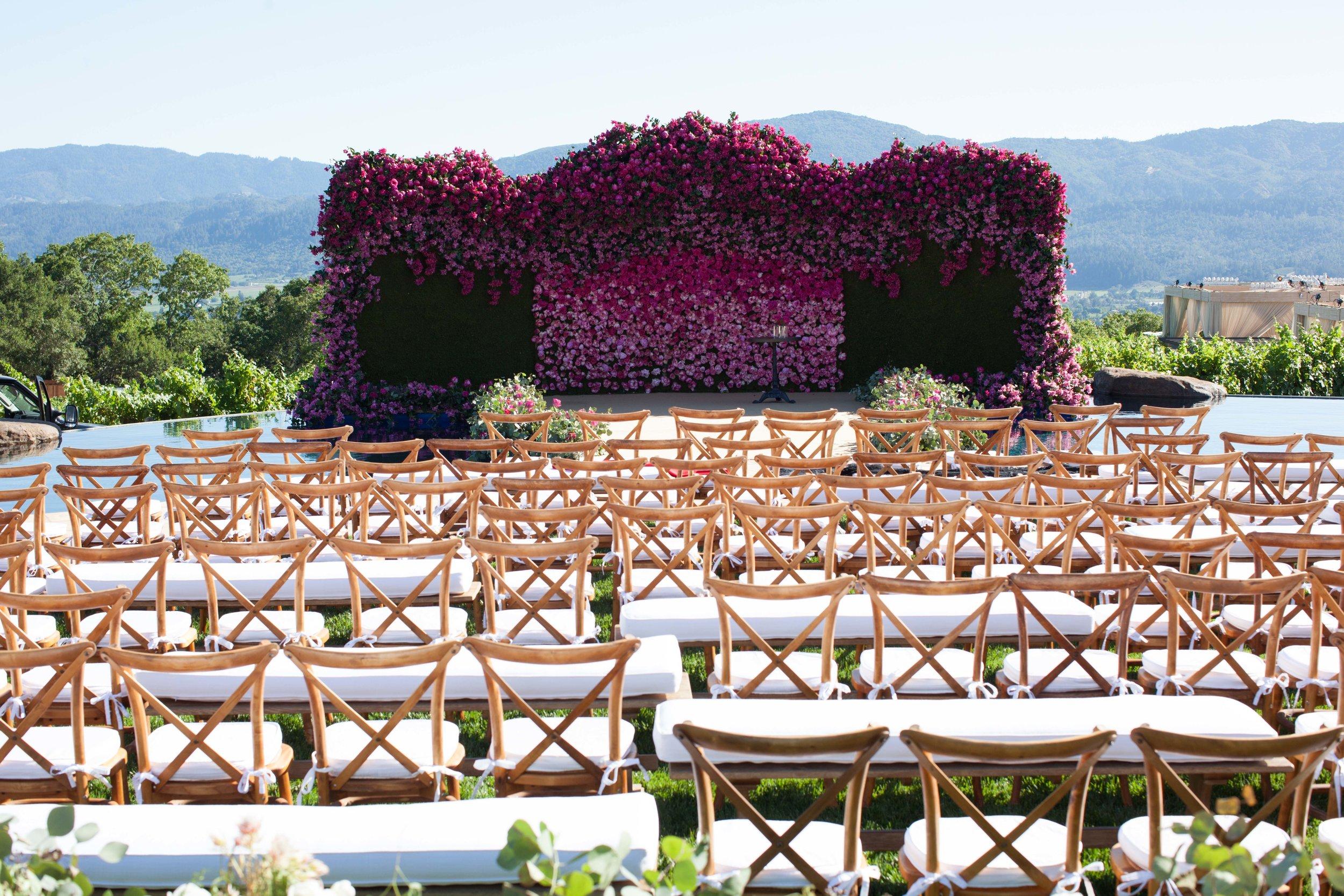 Napa Wedding Ceremony -