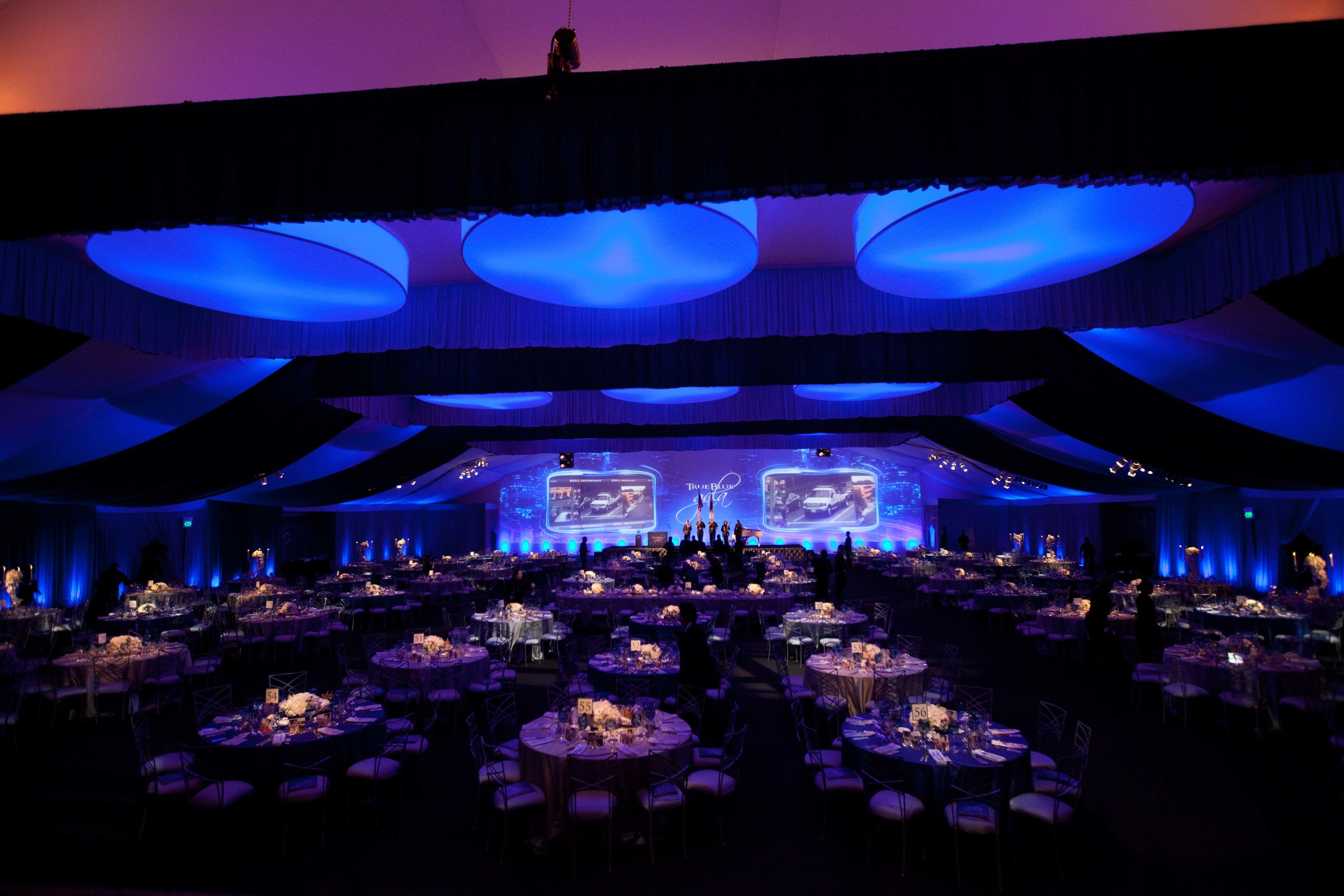 True Blue Gala at LA LIVE -