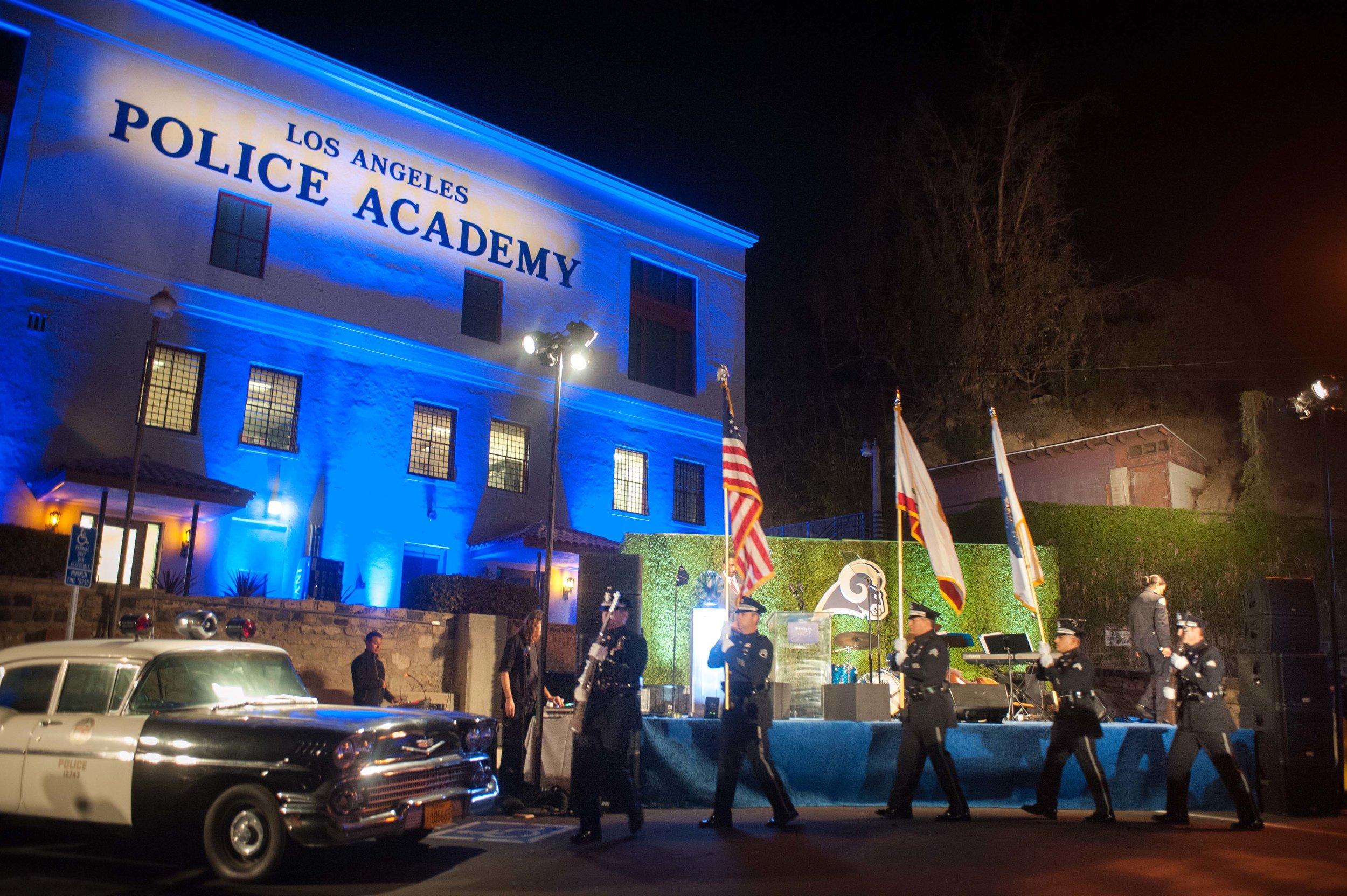 True Blue Gala AT POLICE ACADEMY -