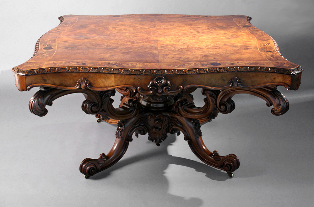 Table after conservation by Bernacki & Associates