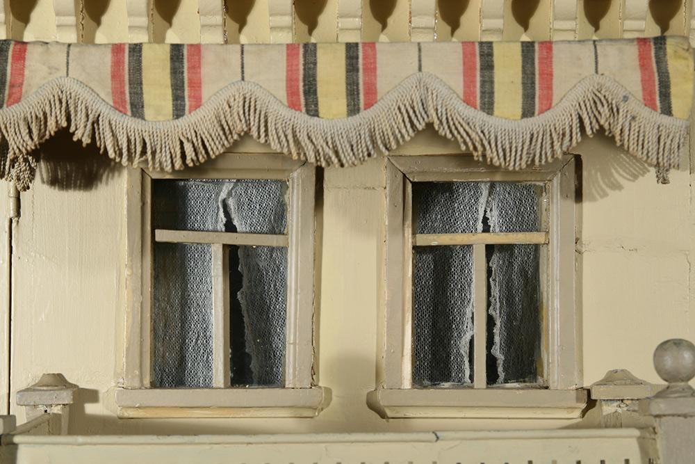 Photo:  Dollhouse detail after restoration